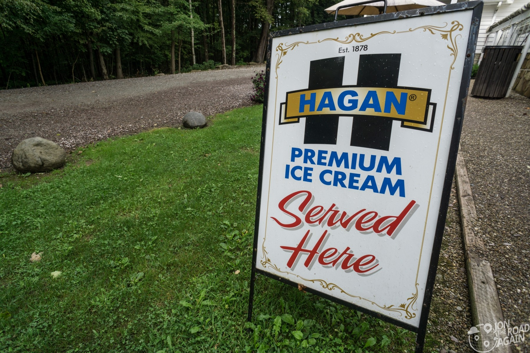 Kentuck Knob Hagan Ice Cream