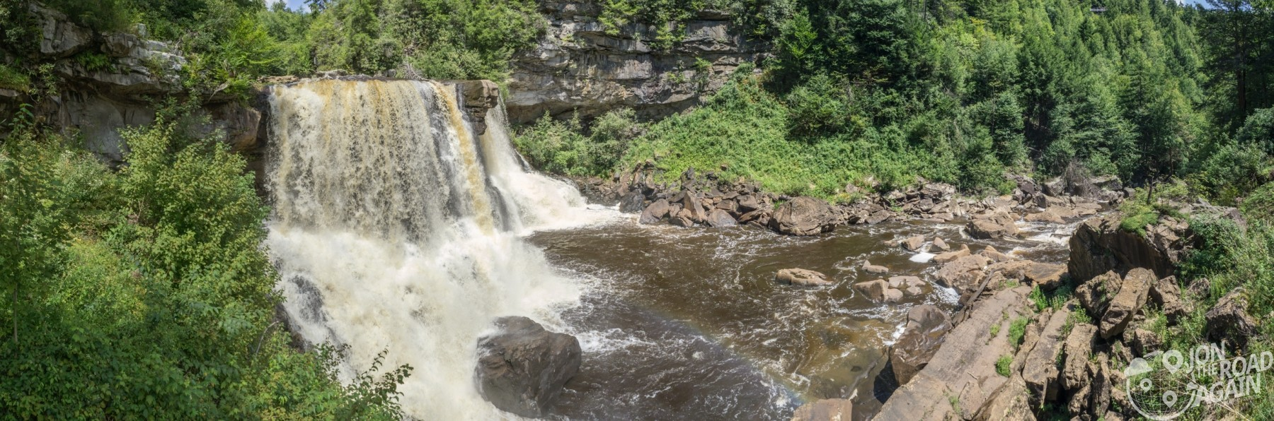 Blackwater Falls Panorama