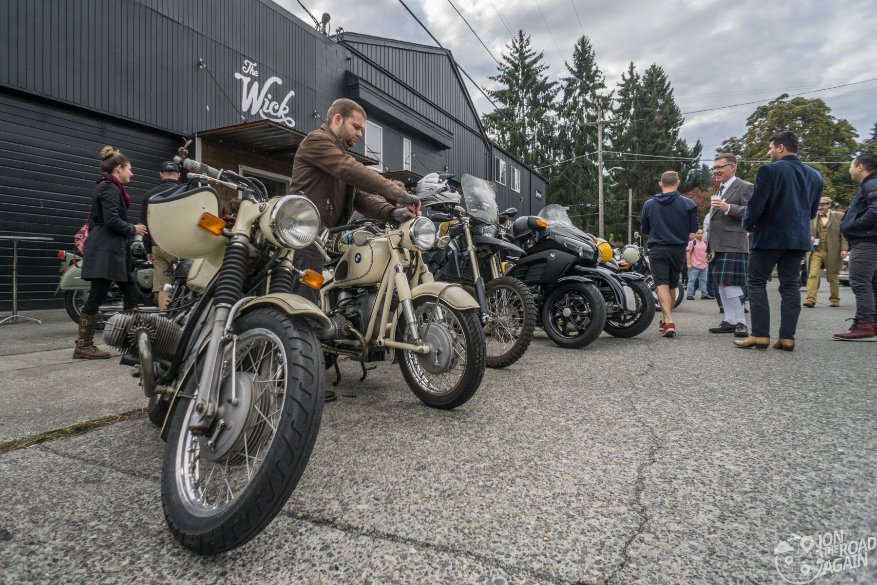 Seattle Distinguished Gentleman's Ride 2018