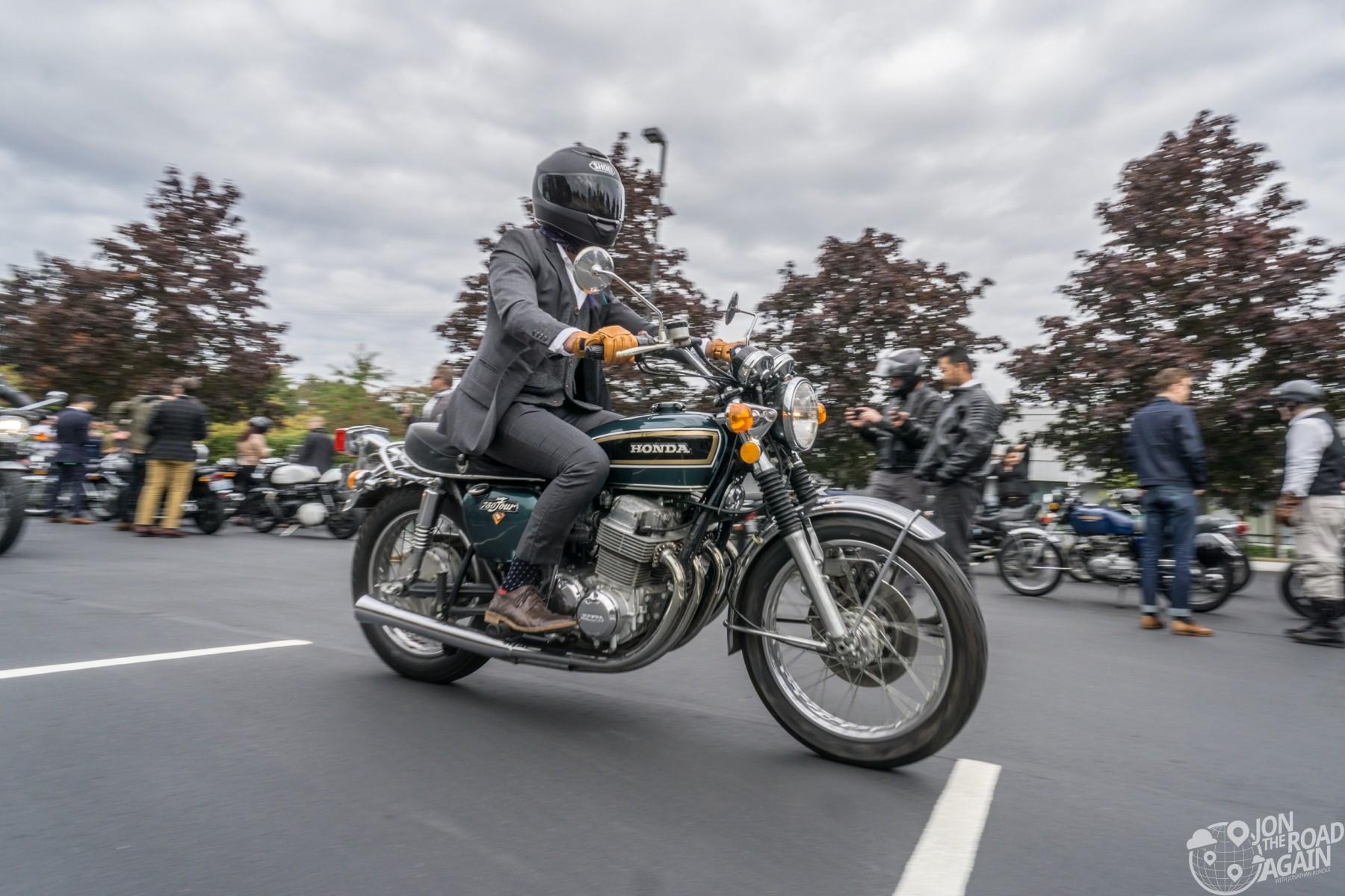 Seattle Distinguished Gentleman's Ride 2018