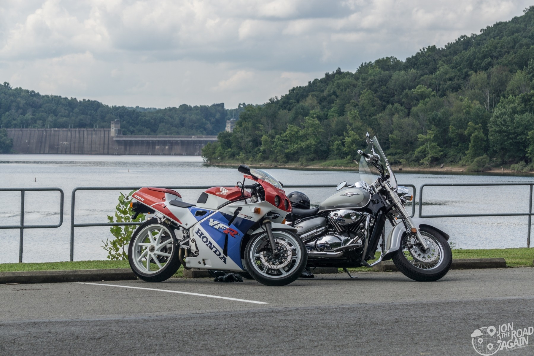 Motorcycles at Tygart Dam
