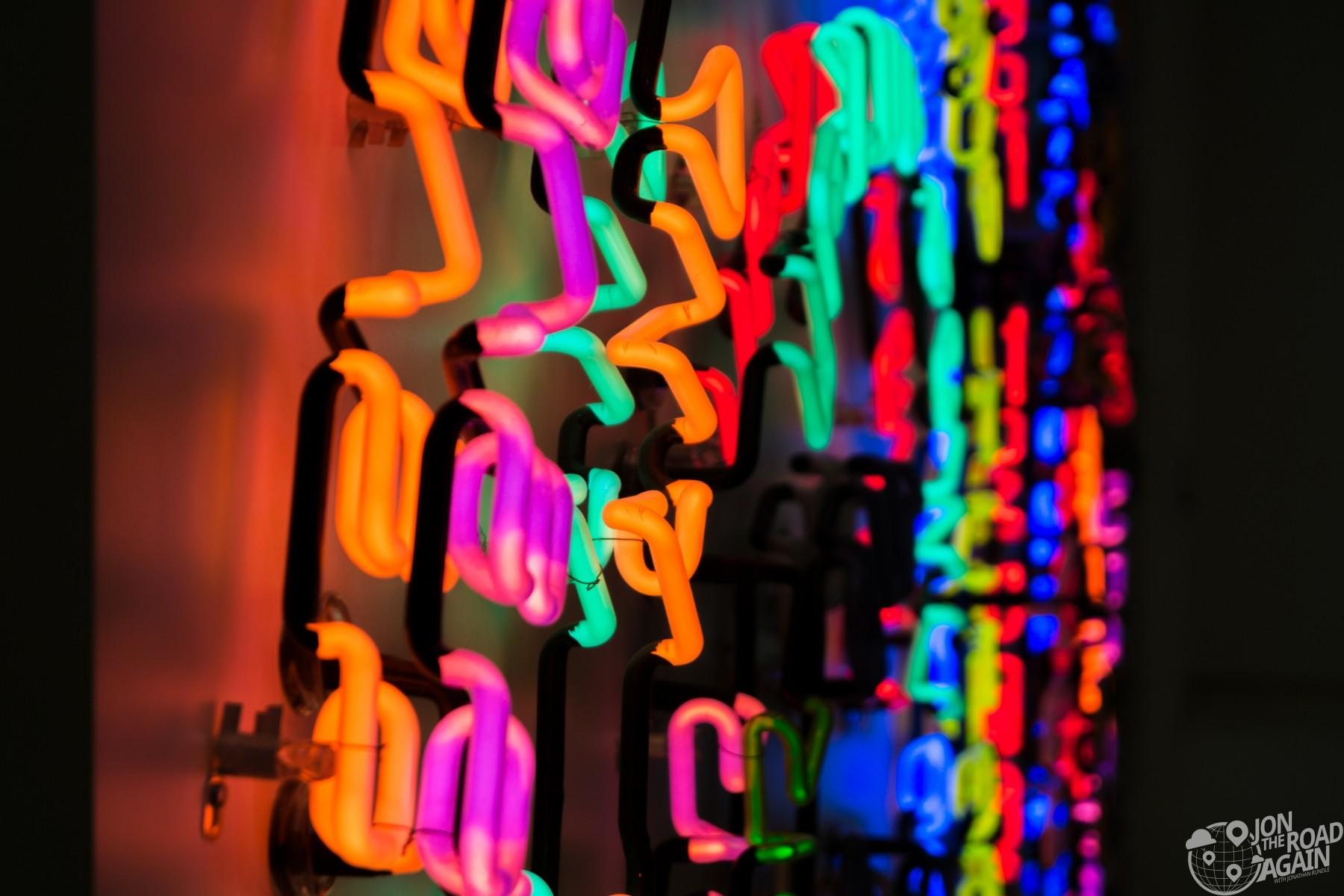 Having Fun/Good Life, Symptoms Bruce Nauman Carnegie Museum of Art