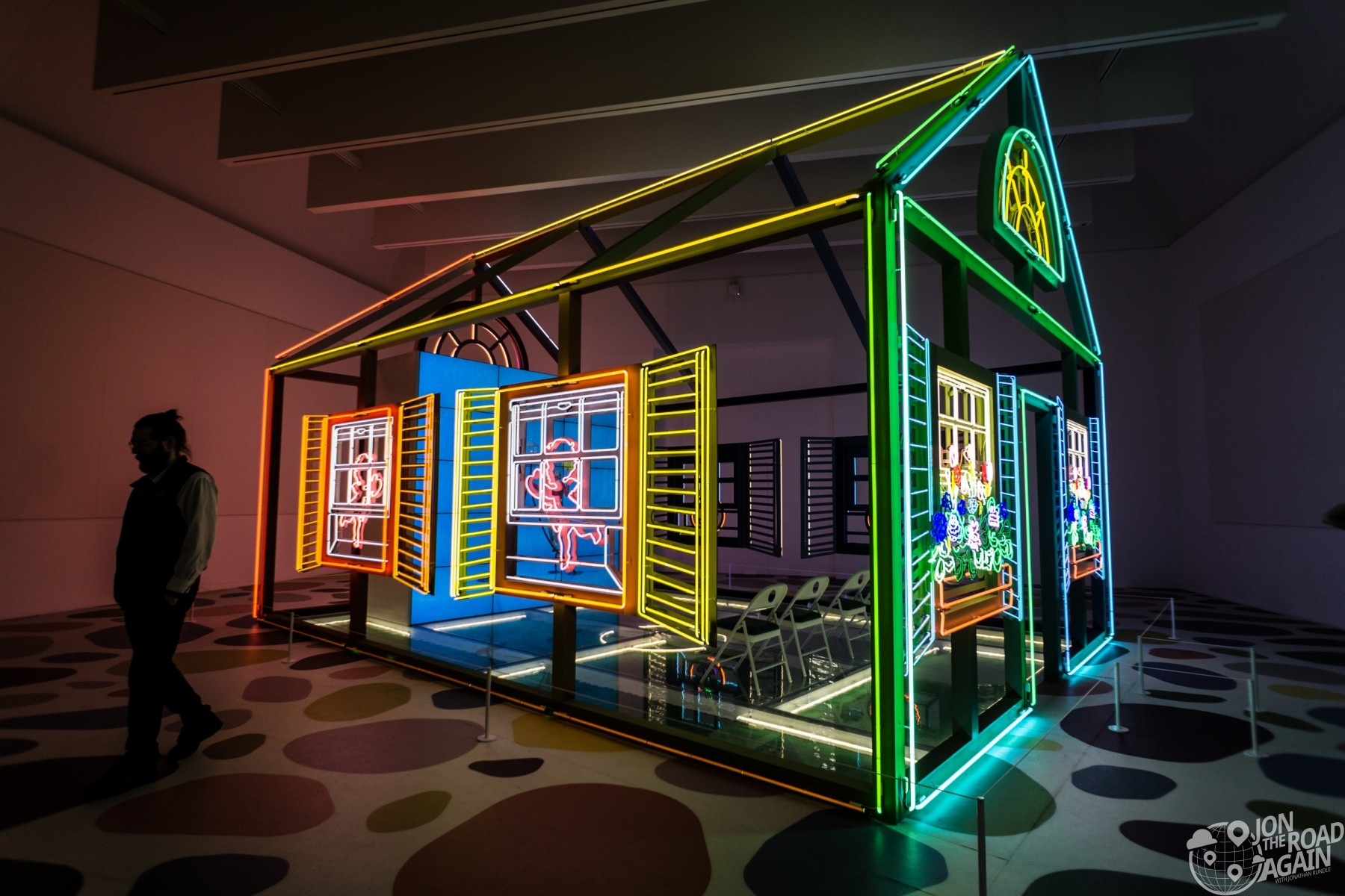 Carnegie Museum of Art Neon House