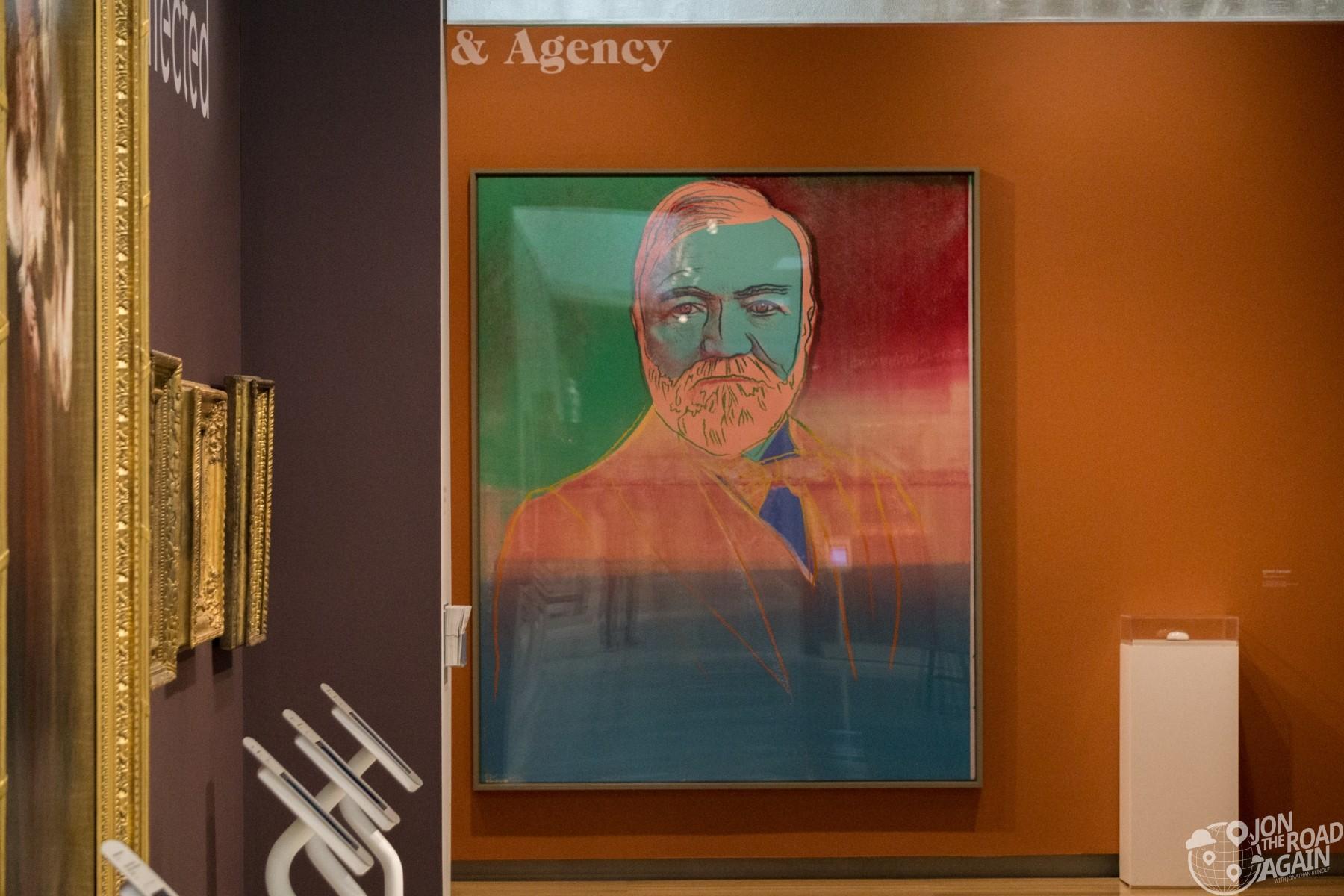 Andrew Carnegie Warhol Carnegie Museum of Art