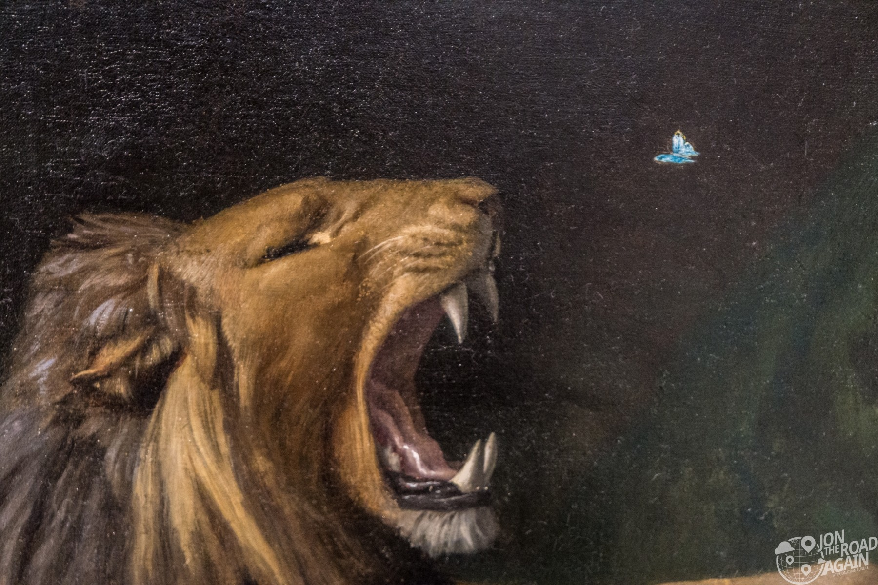 Lion snapping at a butterfly Carnegie Museum of Art