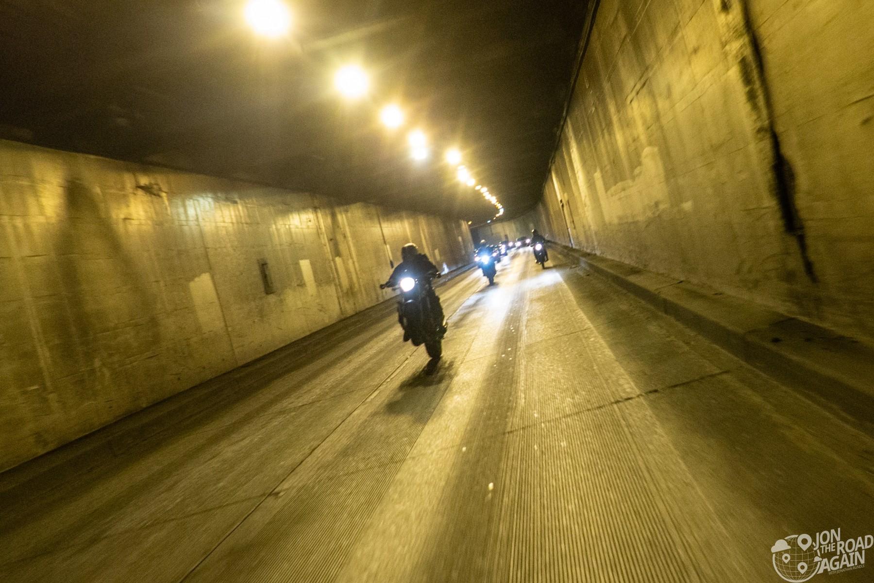 Battery Street Tunnel Wheelie