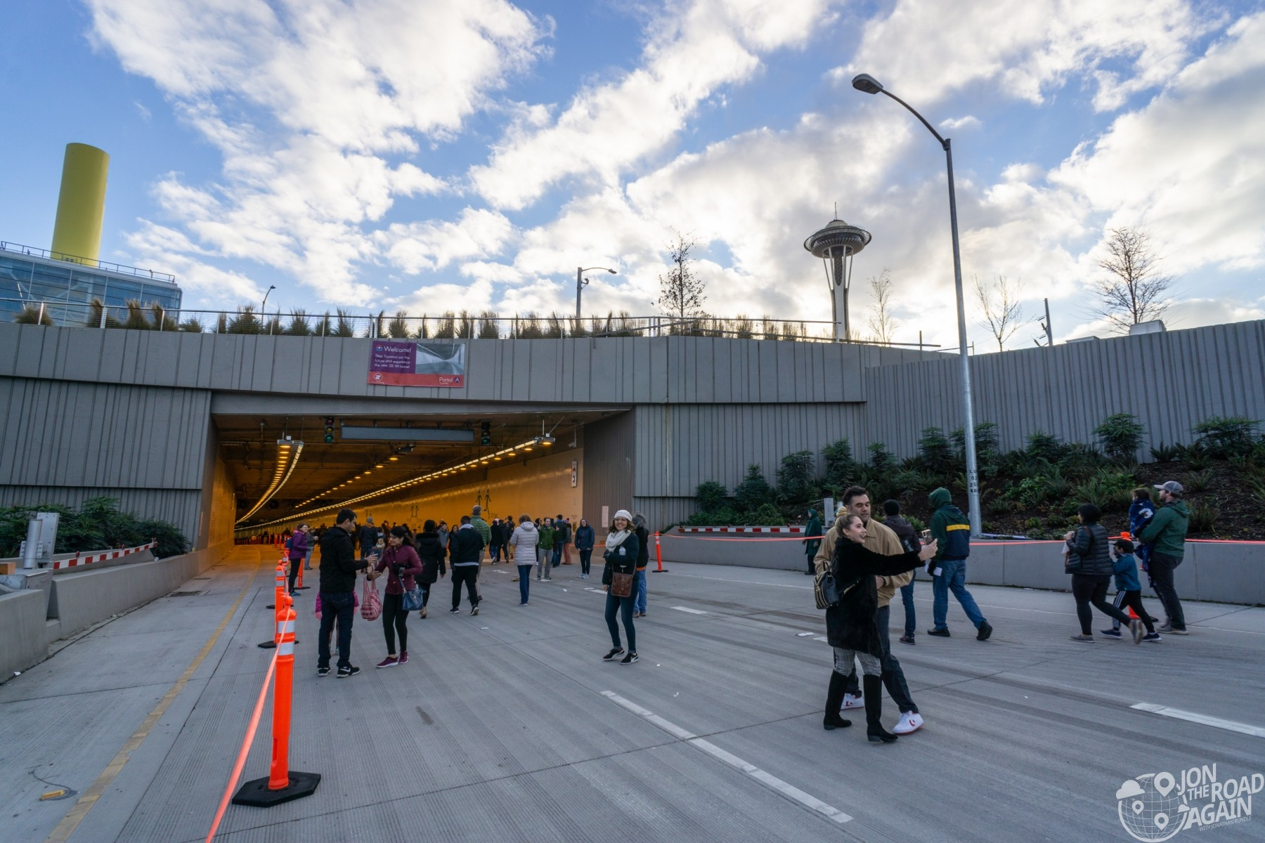 Seattle Tunnel Walk