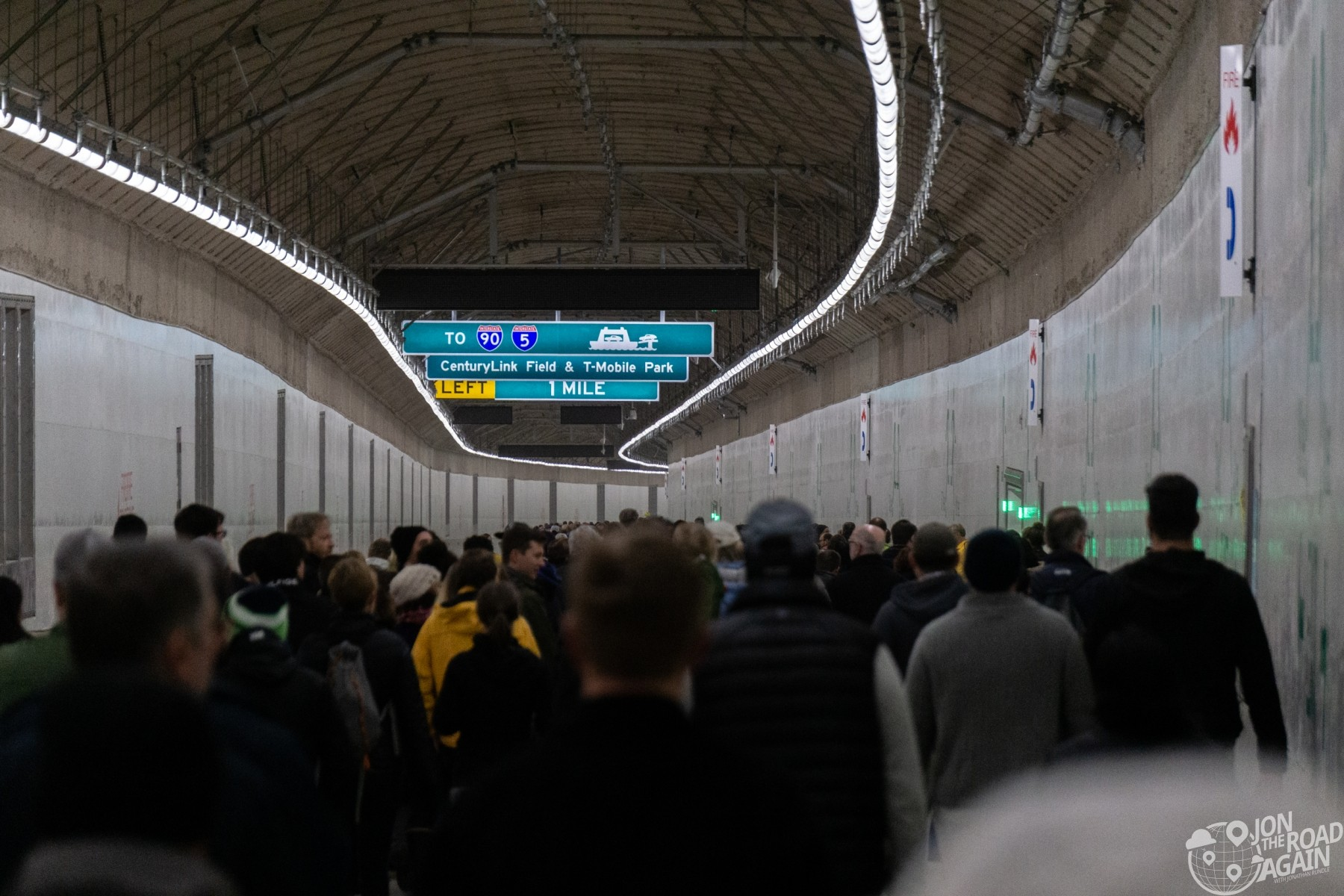 Seattle Tunnel Walk