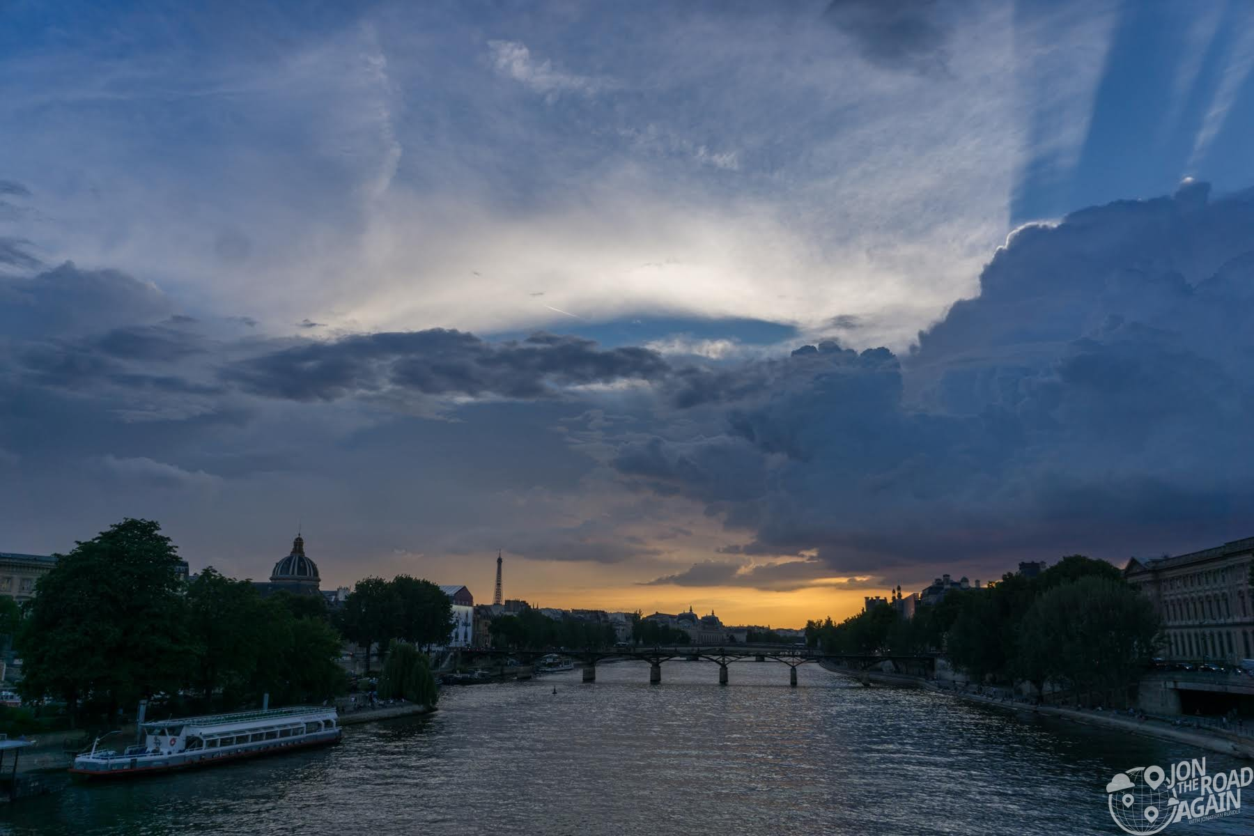 Sunset on the River Seine