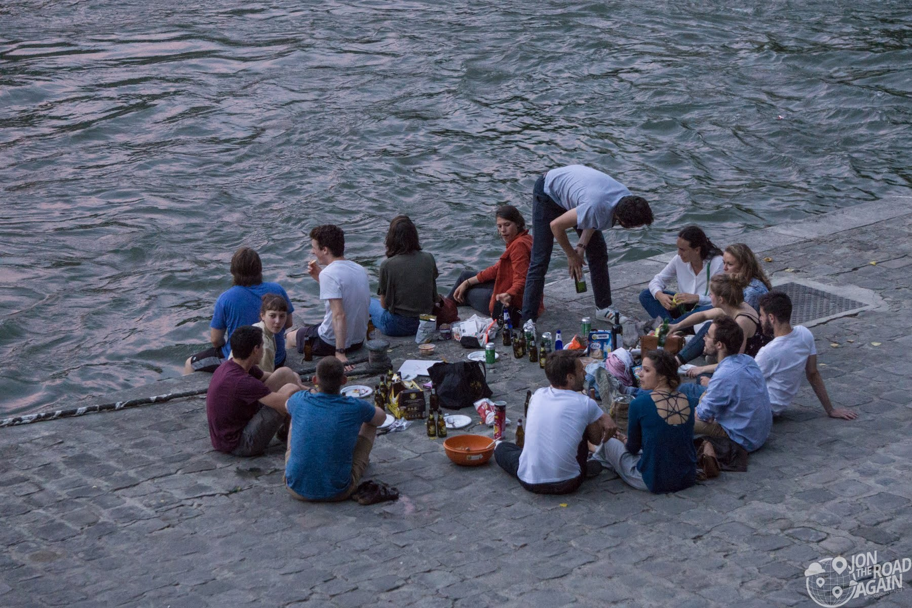 Picnic on the River Seine