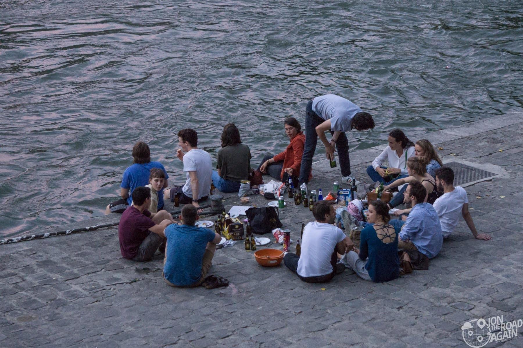 Picnic on the River Seine