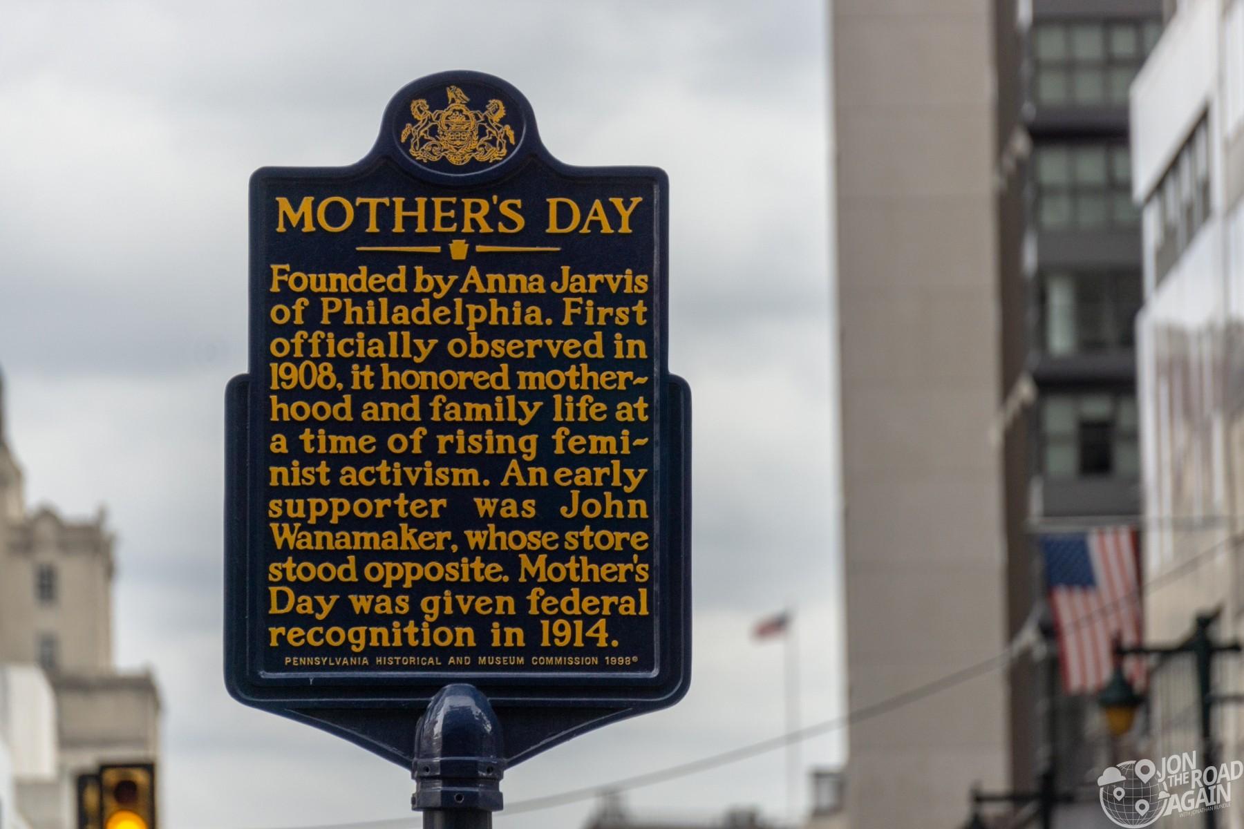 Anna Jarvis Philadelphia