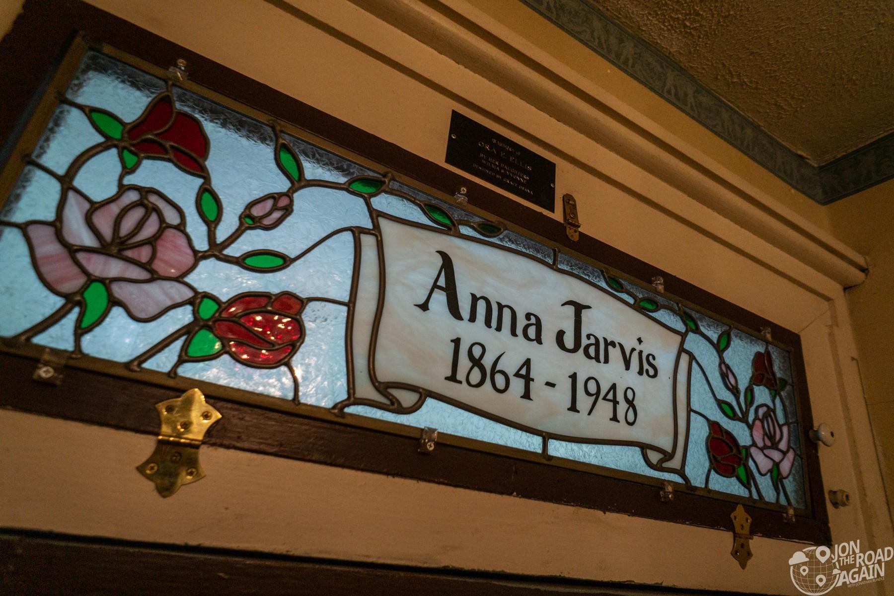 Anna Jarvis House