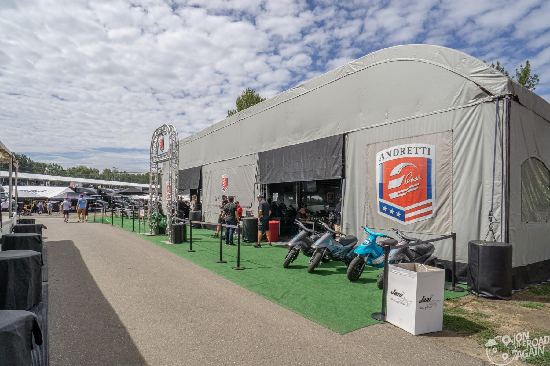 Andretti Autosports Tent