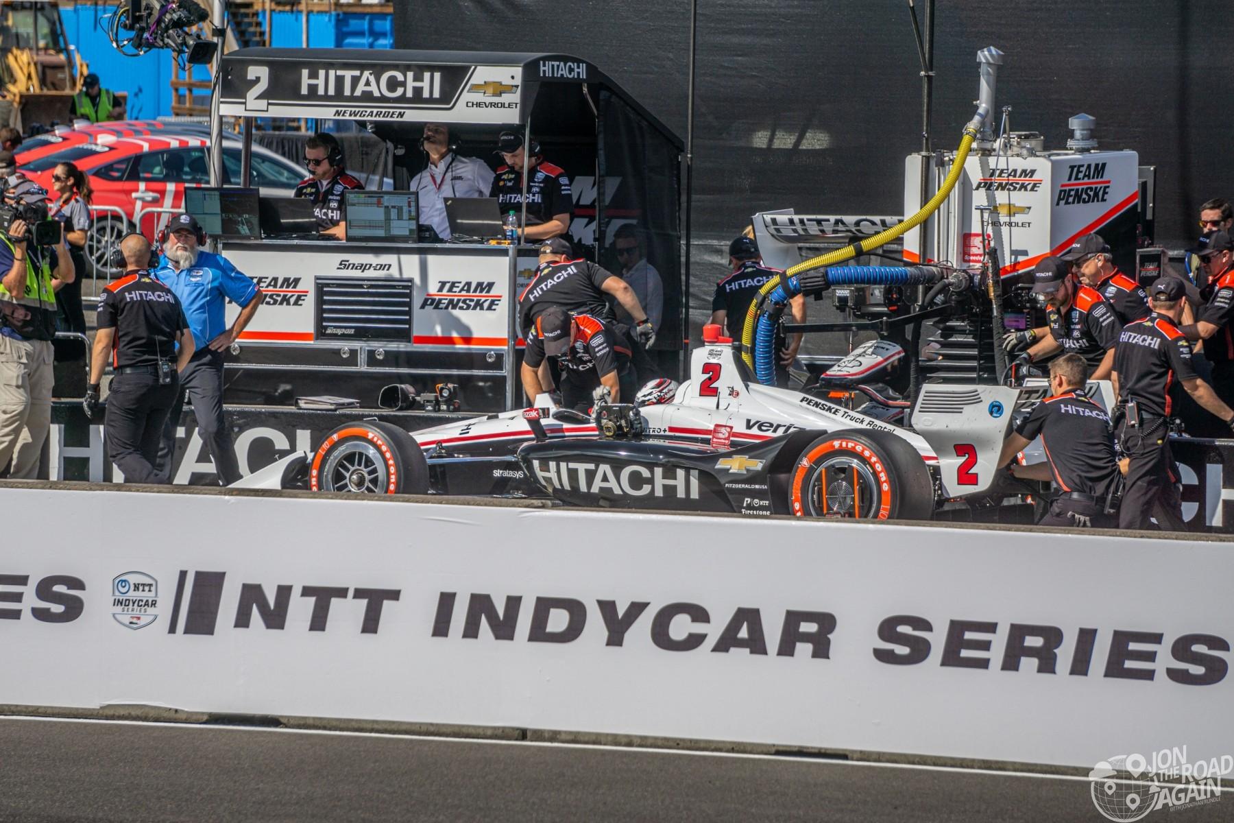 Hitachi Indycar Portland