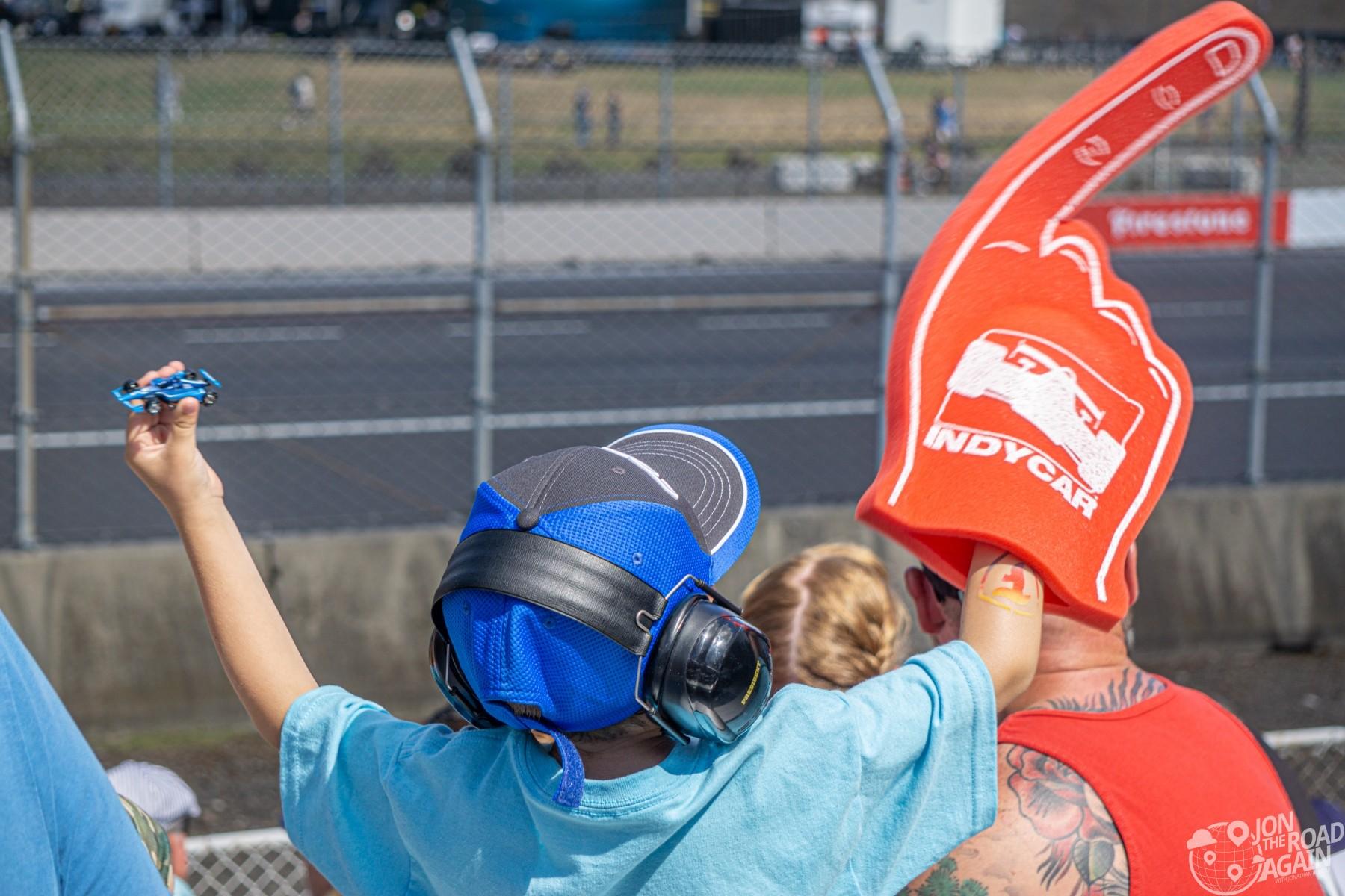 Child Indycar Fan