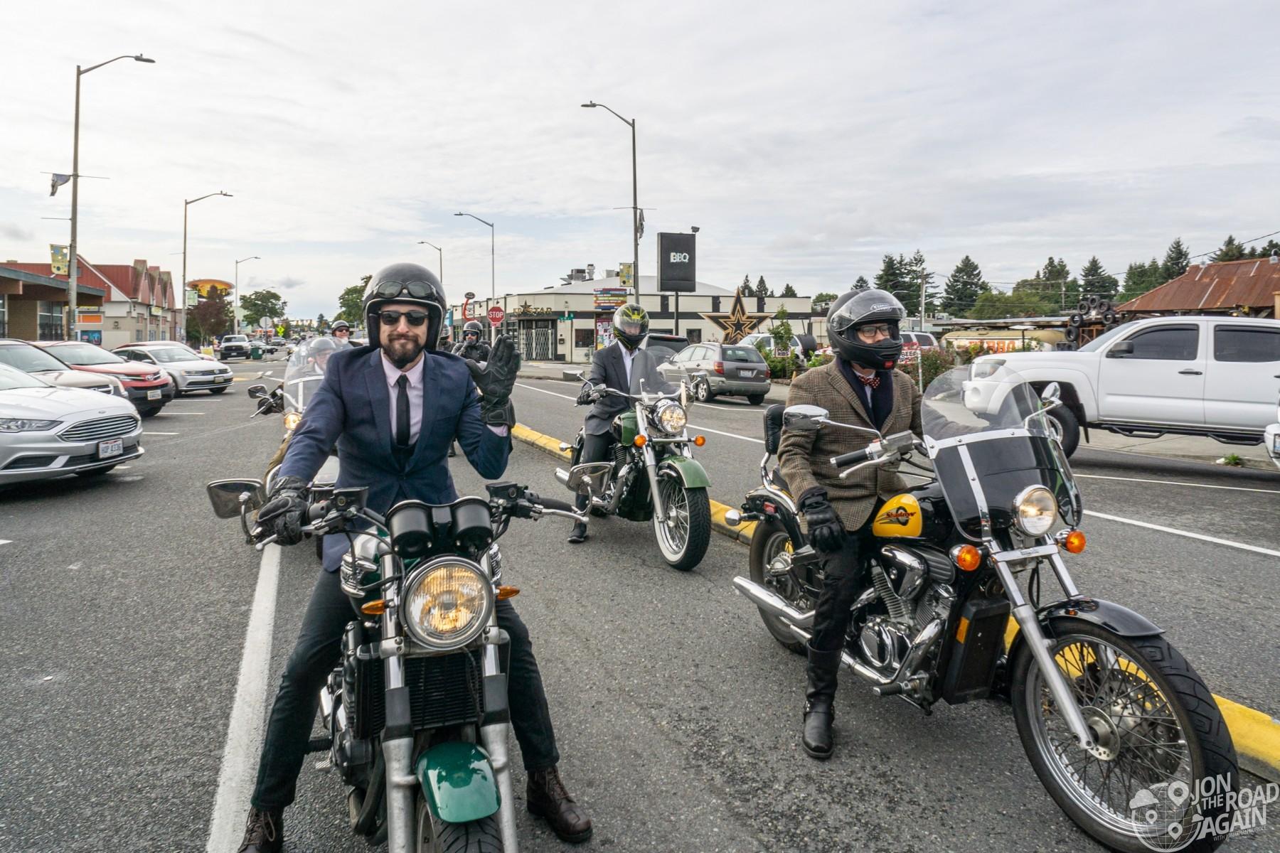 Seattle Distinguished Gentleman's Ride 2019