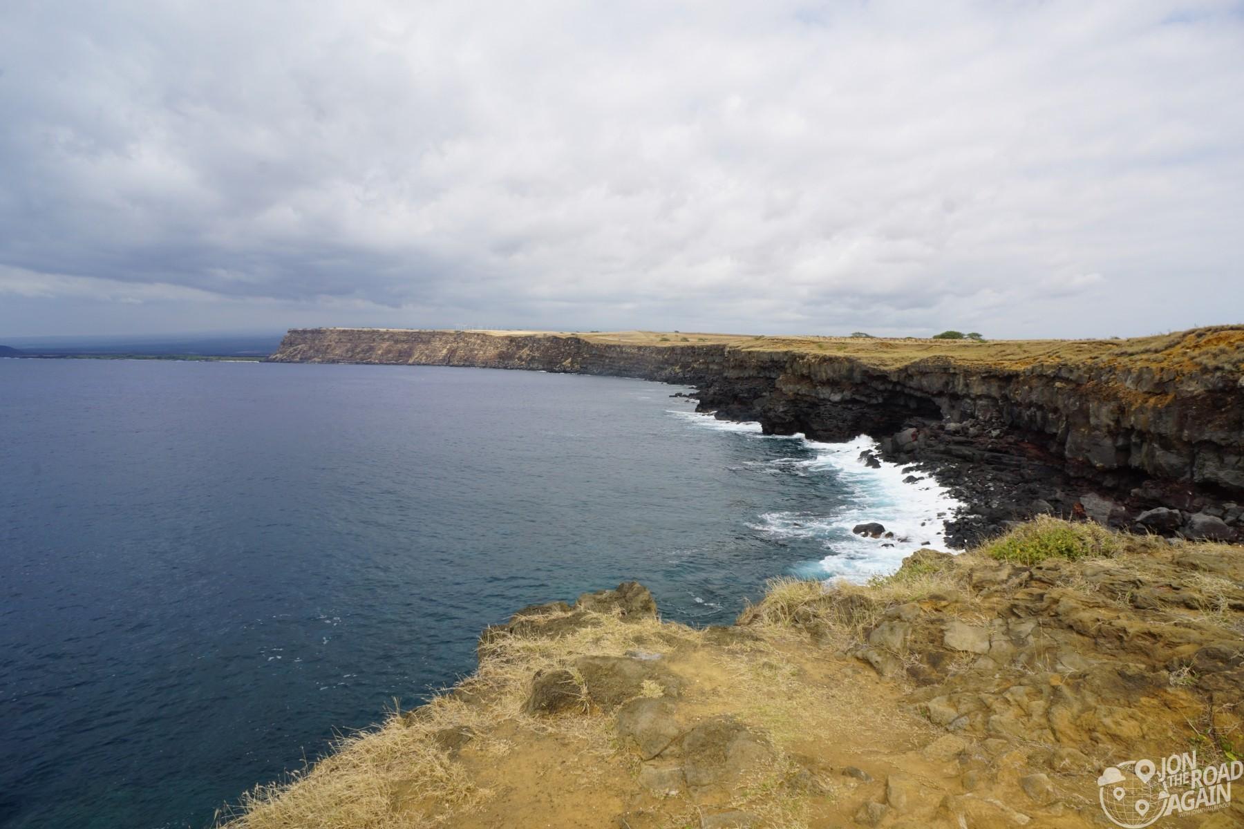 South point coast view Hawaii