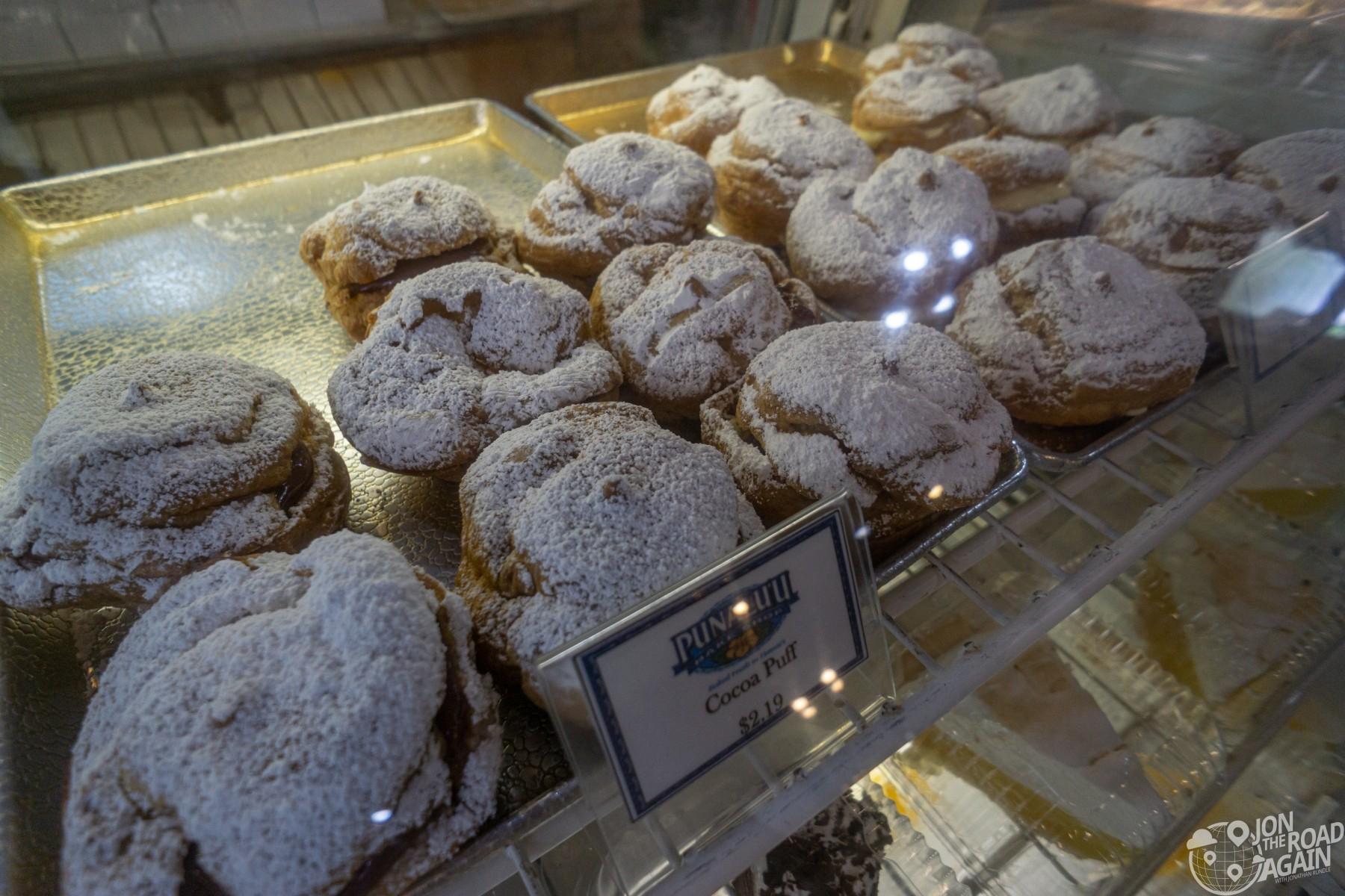 Cocoa Puffs at Punalu'u bake shop