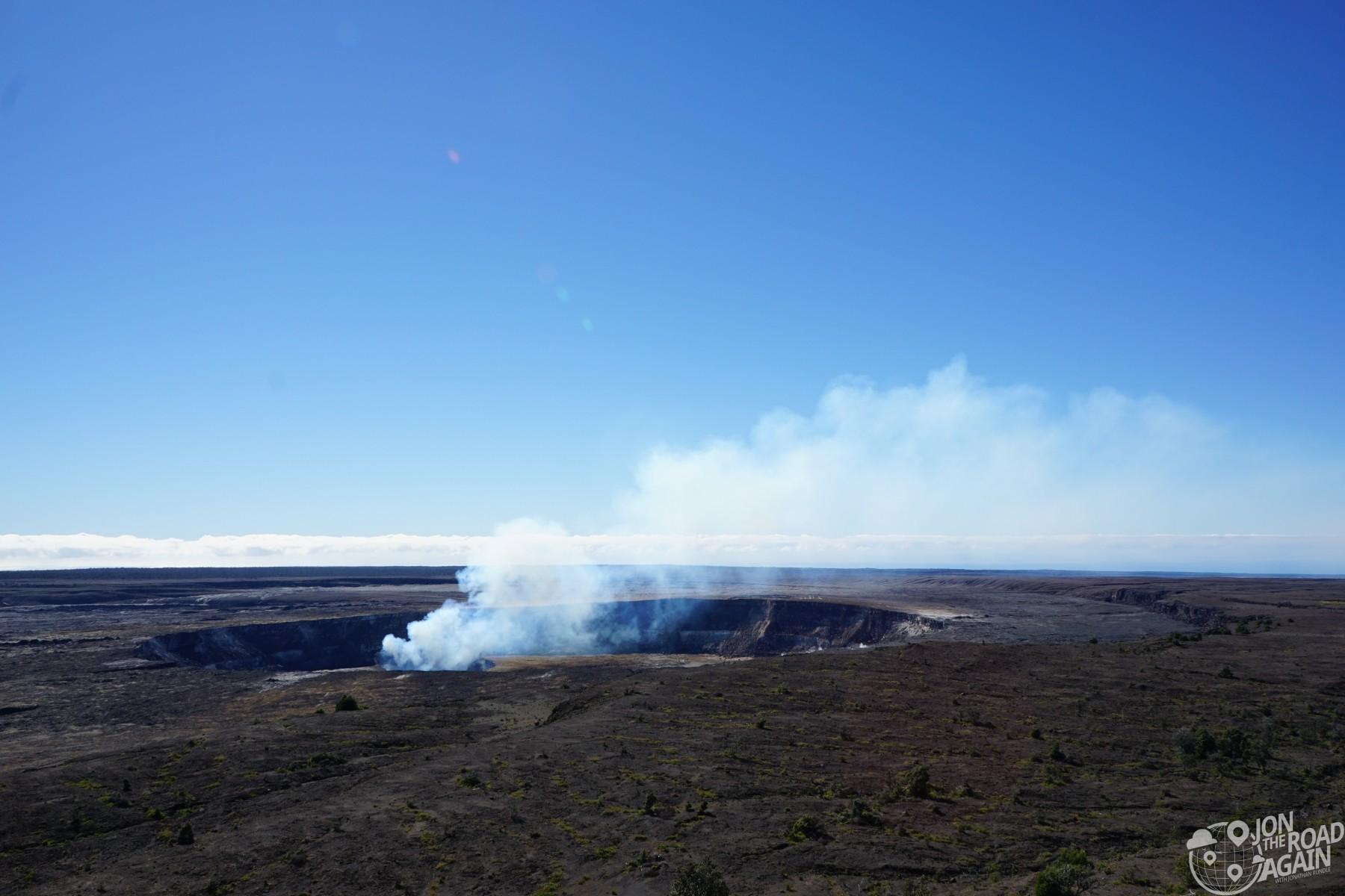 Kilauea overlook