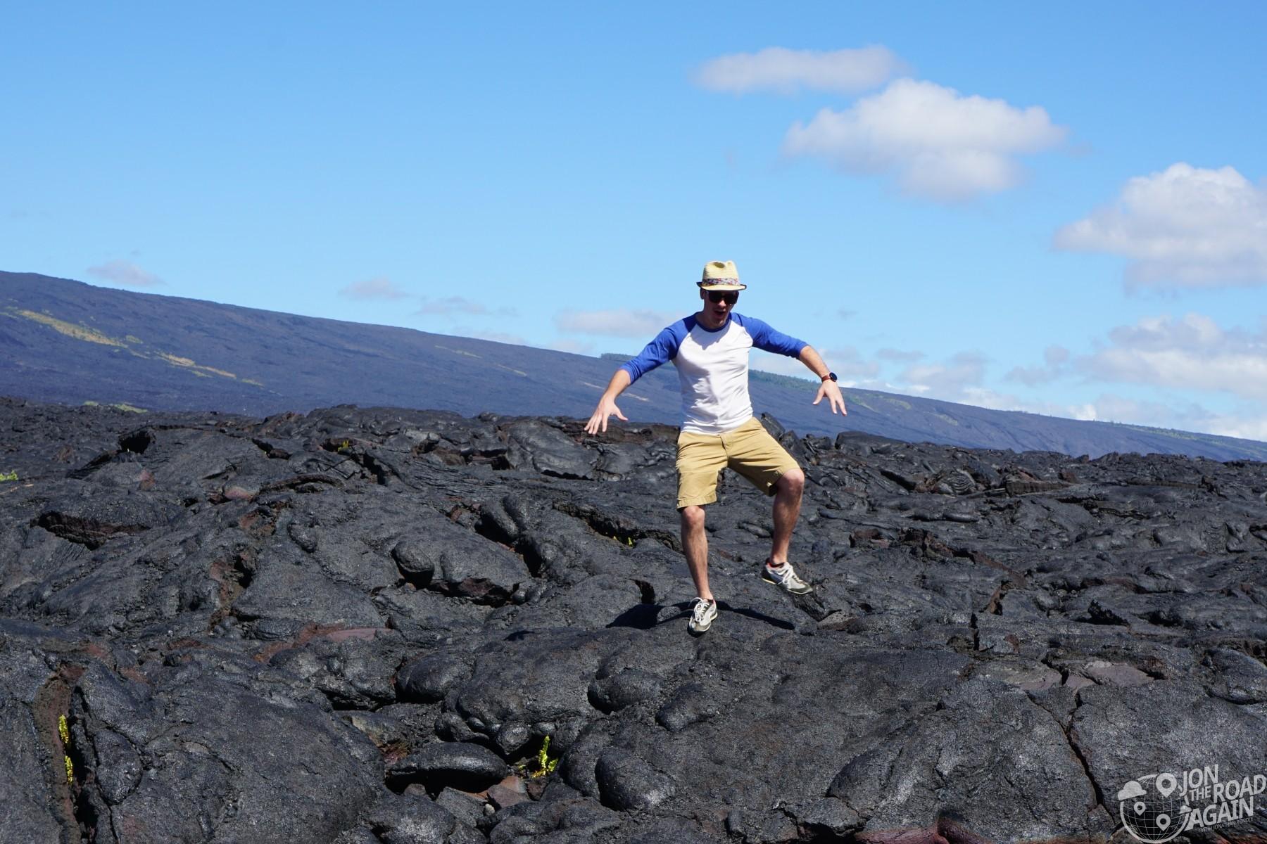 Volcanoes National Park Lava field