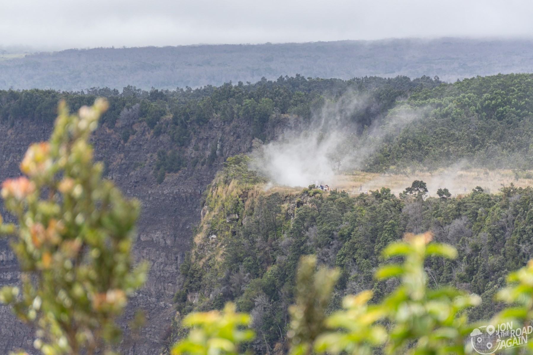 Hawaii Volcanoes National Park Steaming Bluff