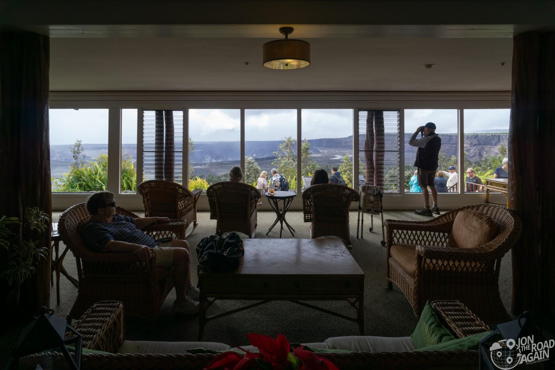 Volcano House Overlook