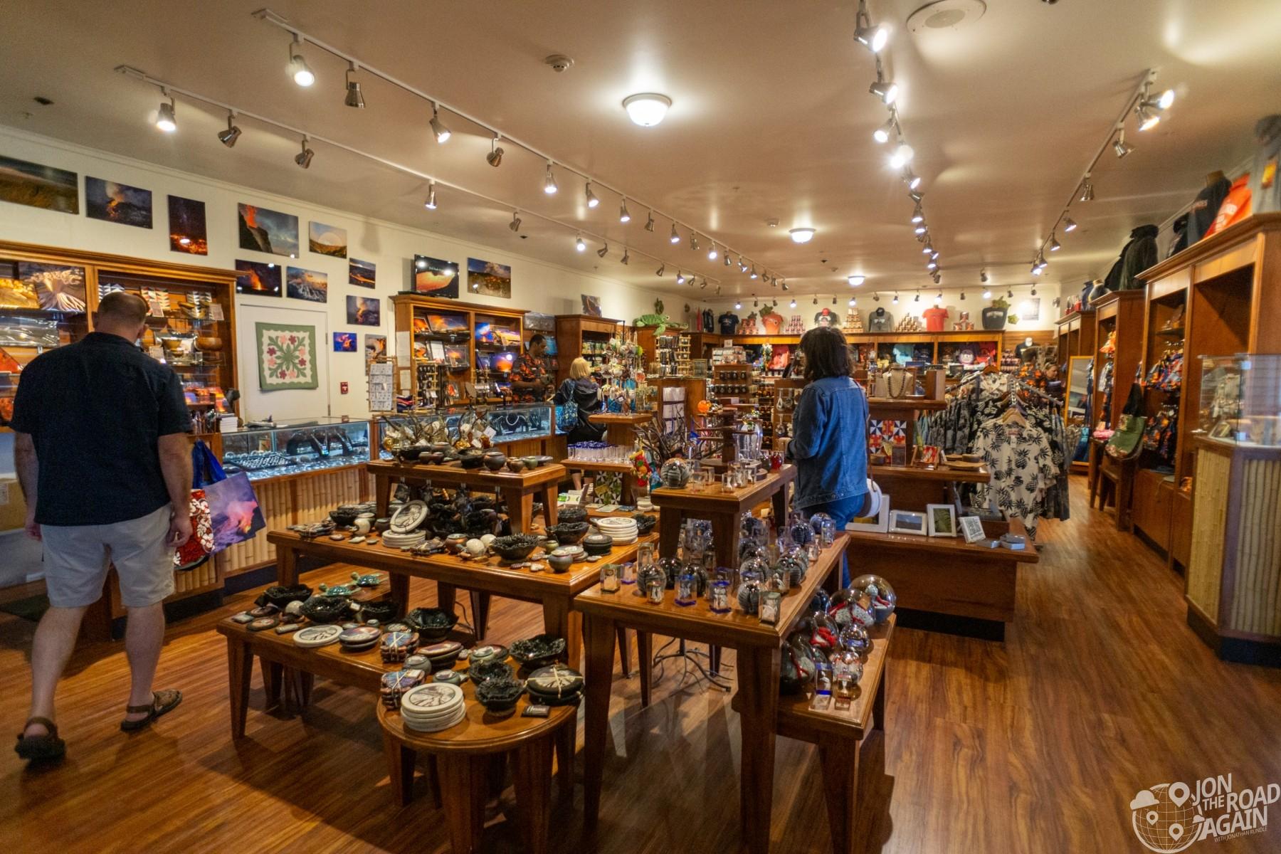 Volcano House Gift Shop