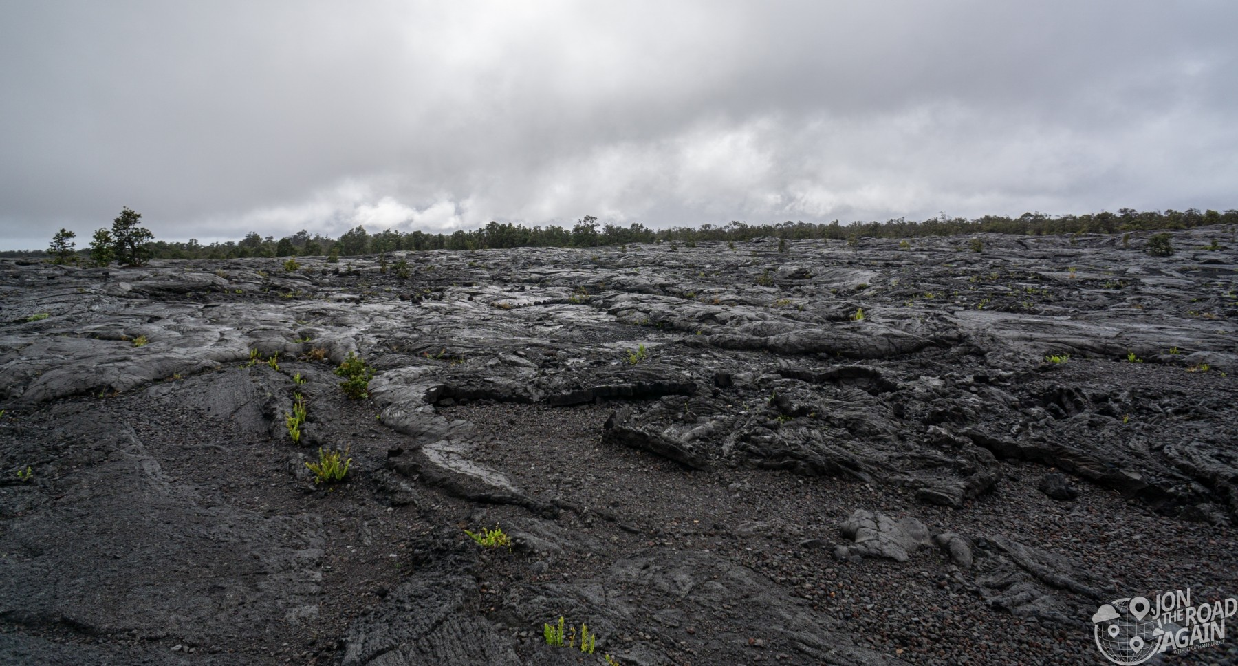 Lava at Volcanoes National Park