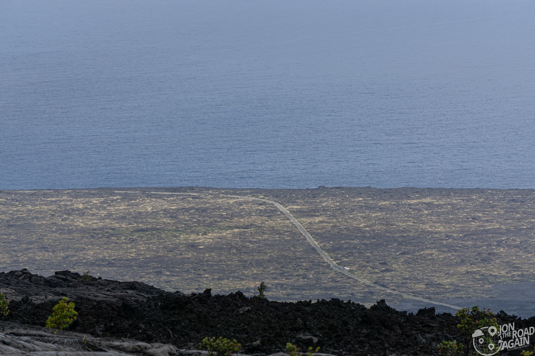 Shoreline at Volcanoes National Park