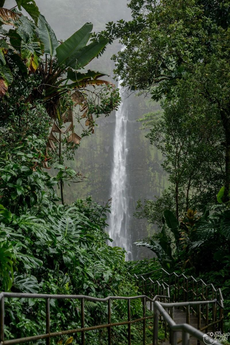 Akaka Falls and path