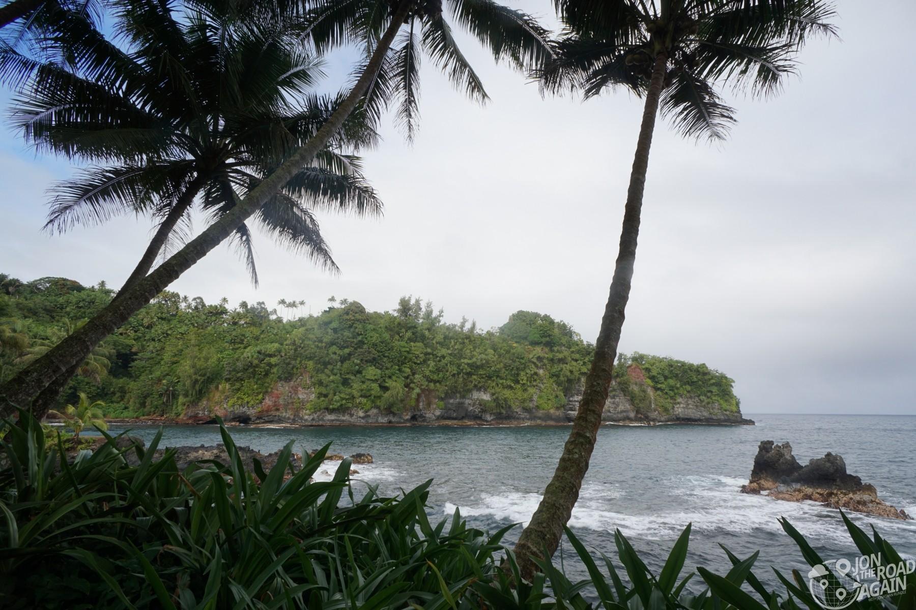 Hawaii Botanical Garden coast
