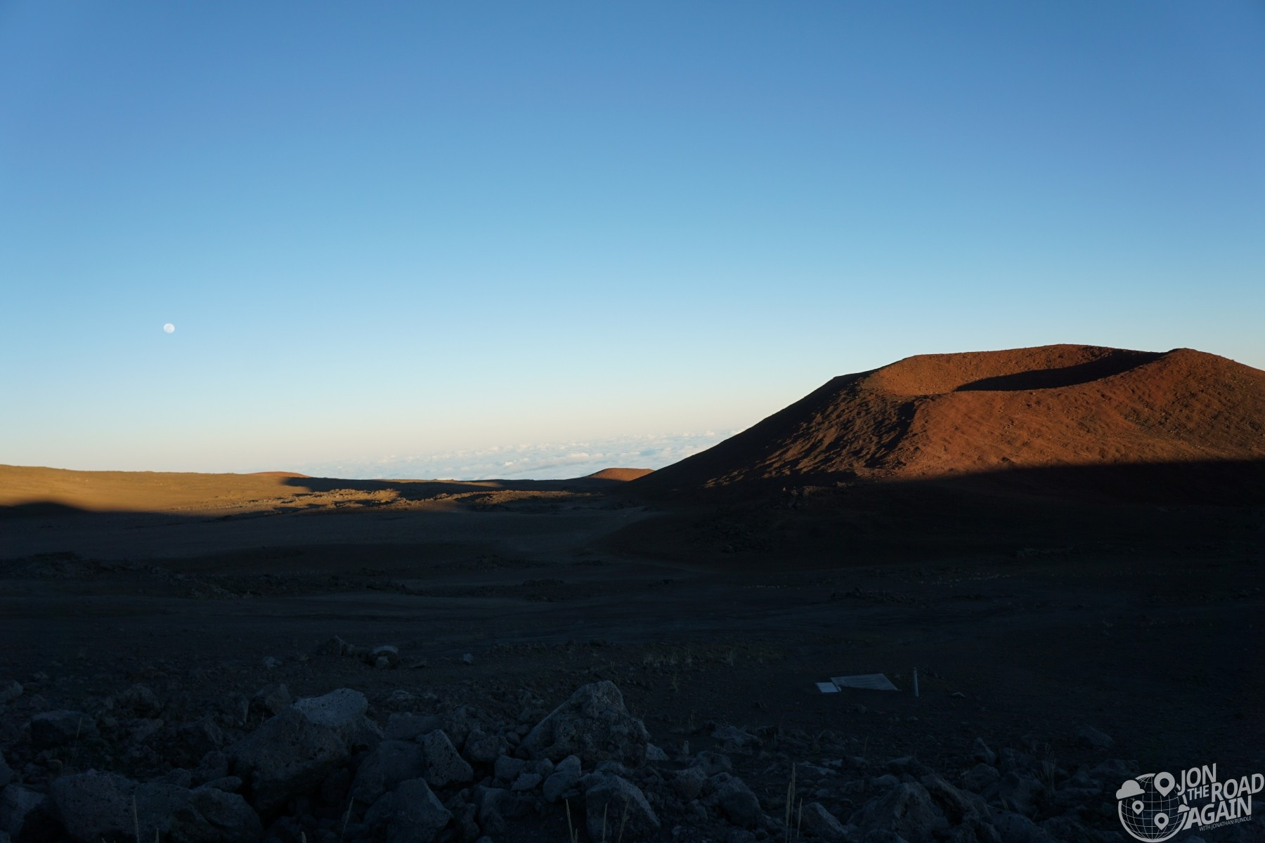View from Mauna Kea Road
