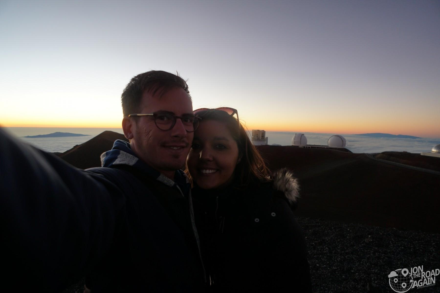 Mauna Kea summit selfie