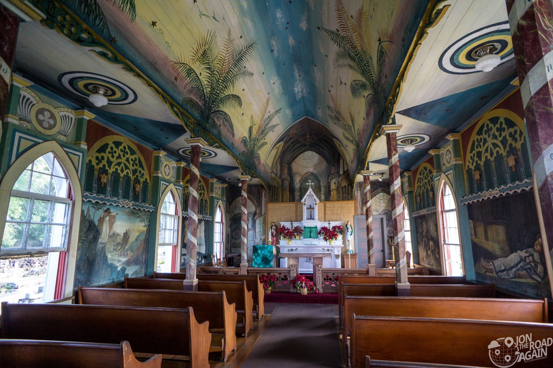St. Benedict Painted Church Interior