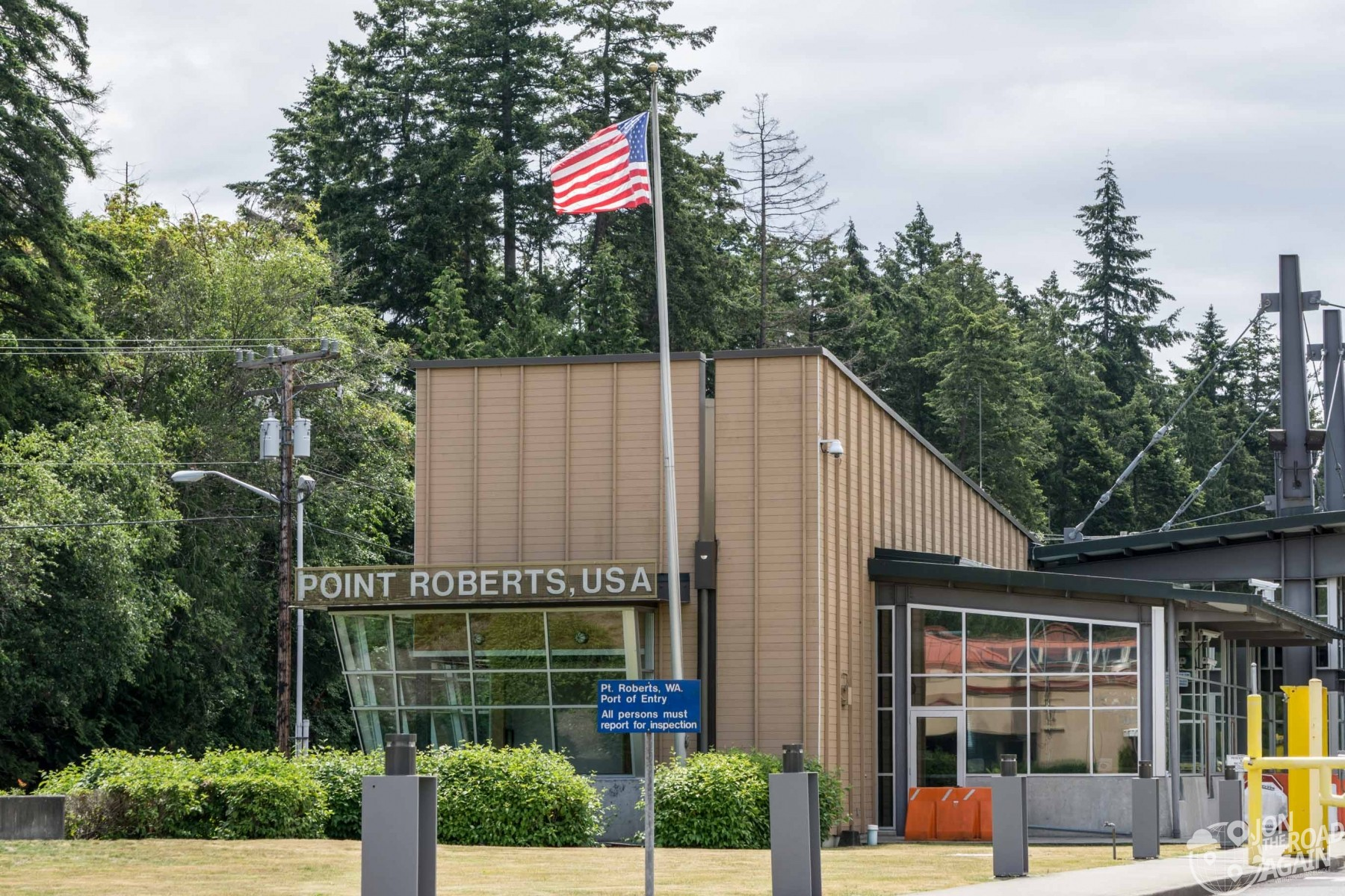 Point Roberts Border Checkpoint