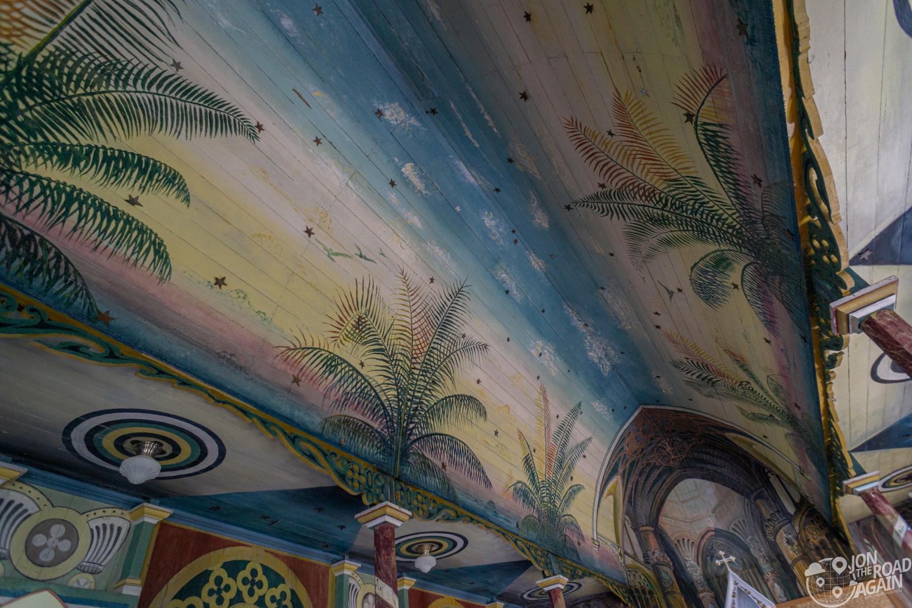 St. Benedict Painted Church interior
