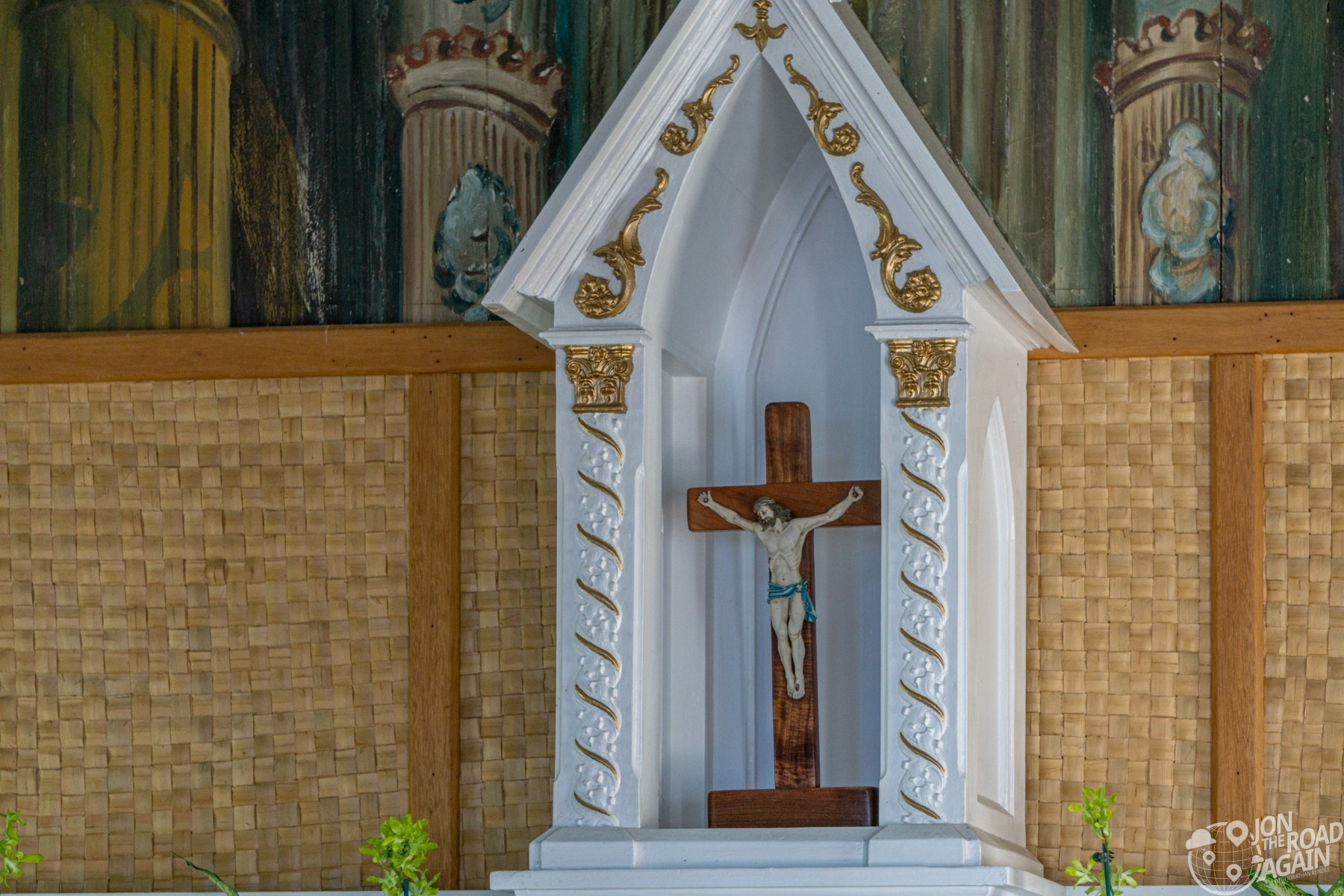 St. Benedict Painted Church Altar