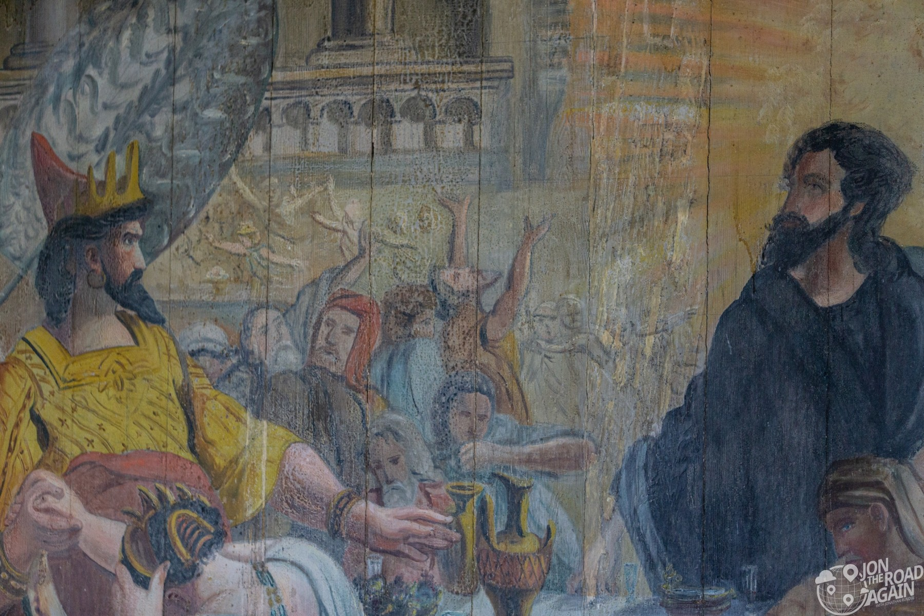St. Benedict Painted Church Painting