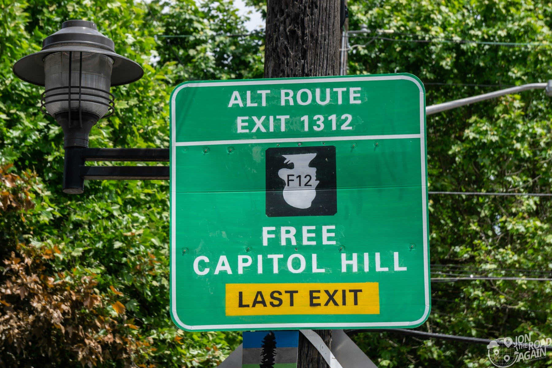 Free Capitol Hill Sign
