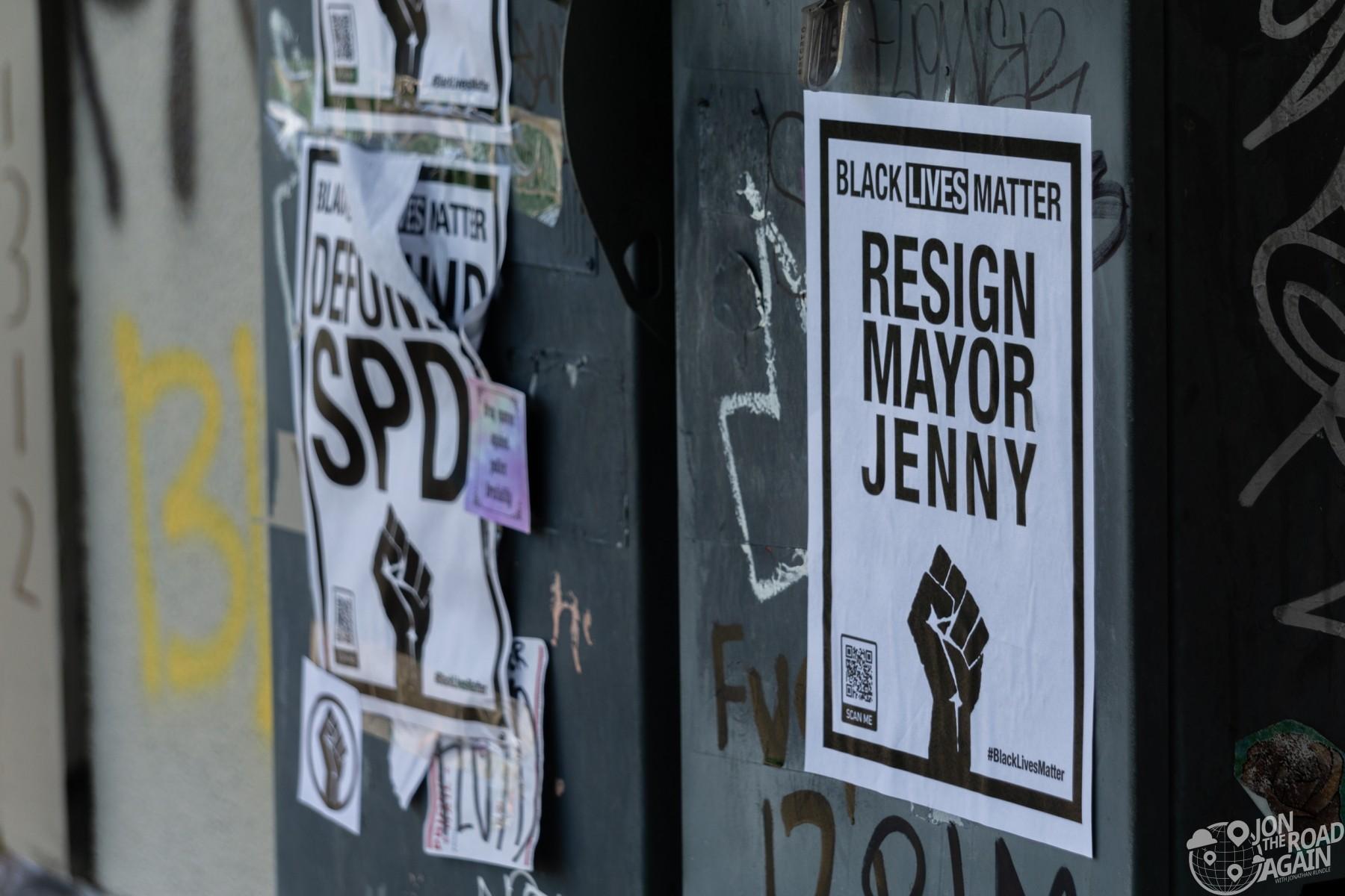 BLM Resign Mayor Jenny