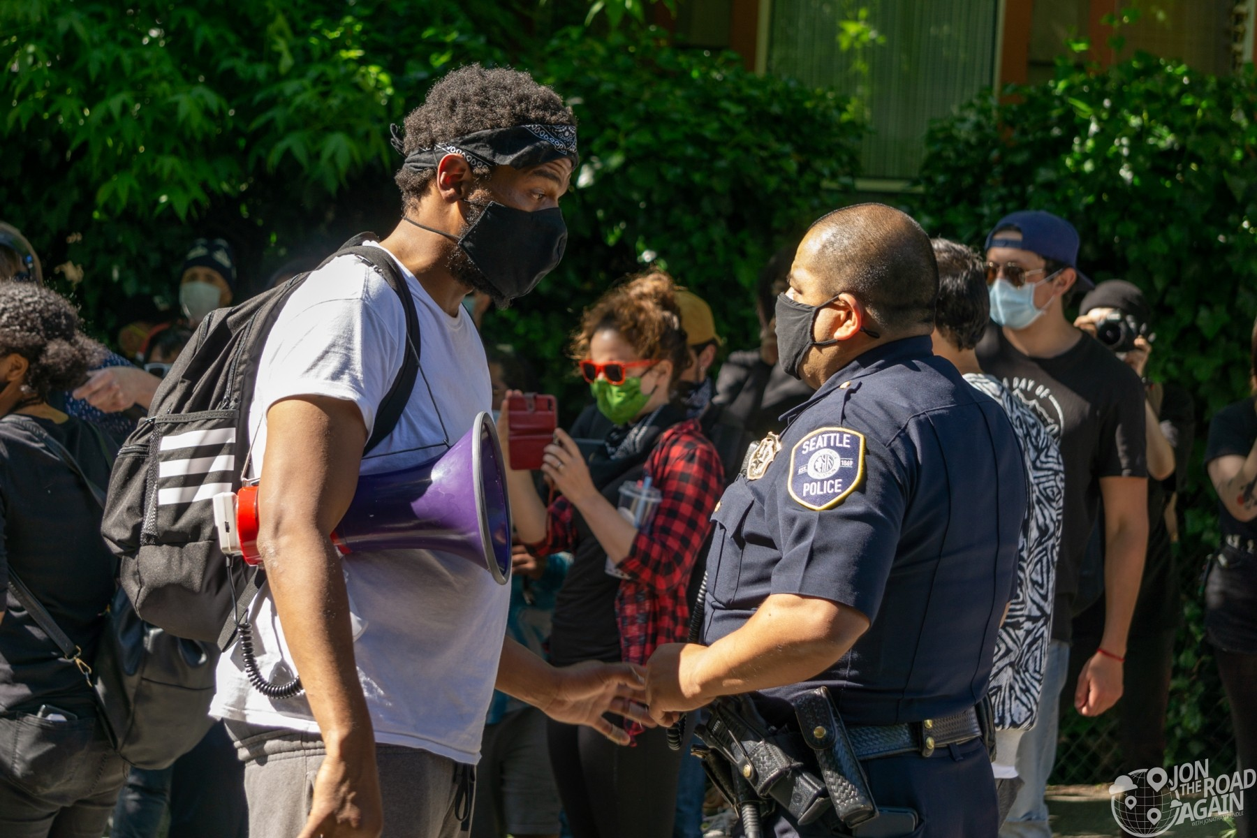 Police visit CHAZ