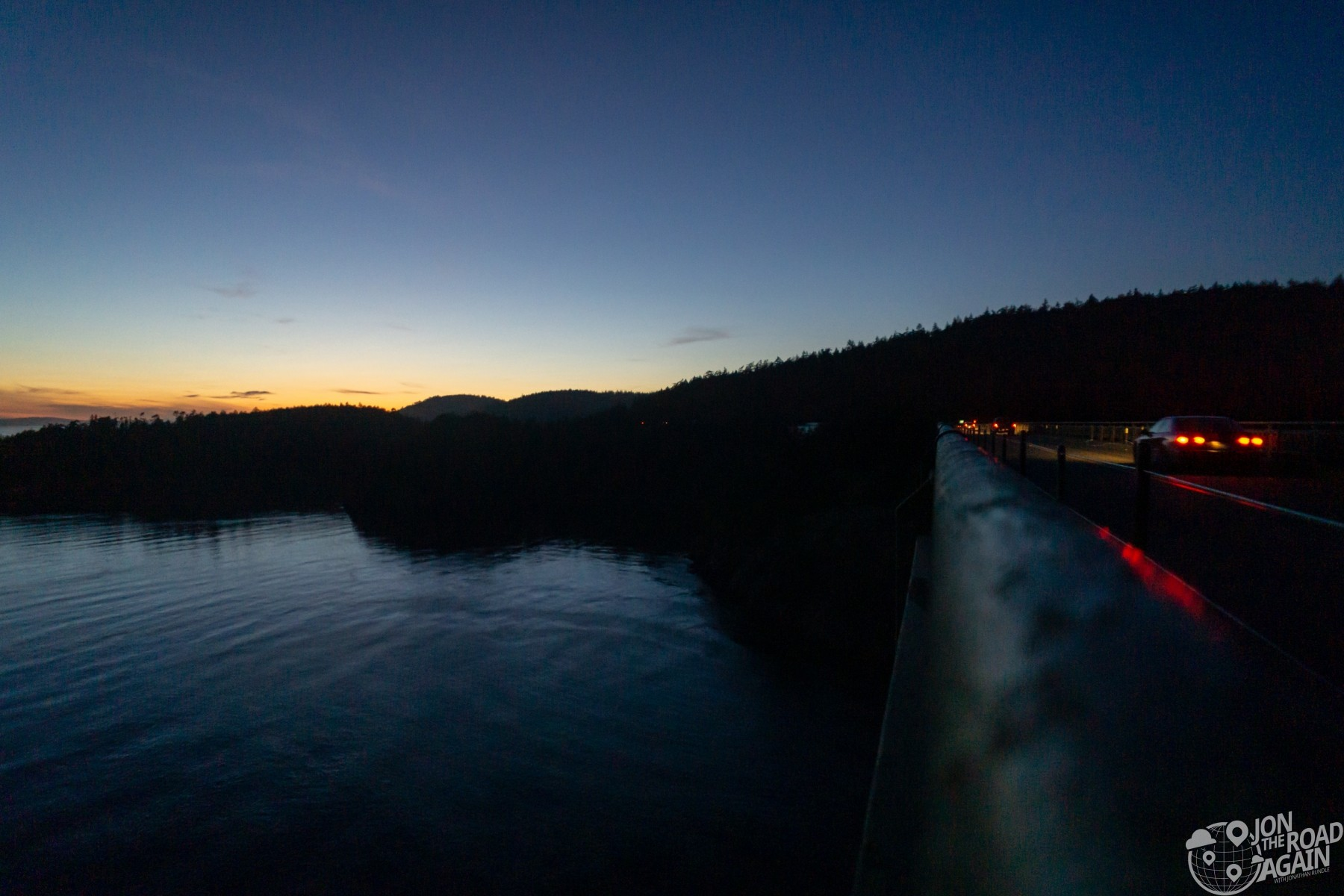 Sunset at Deception Pass
