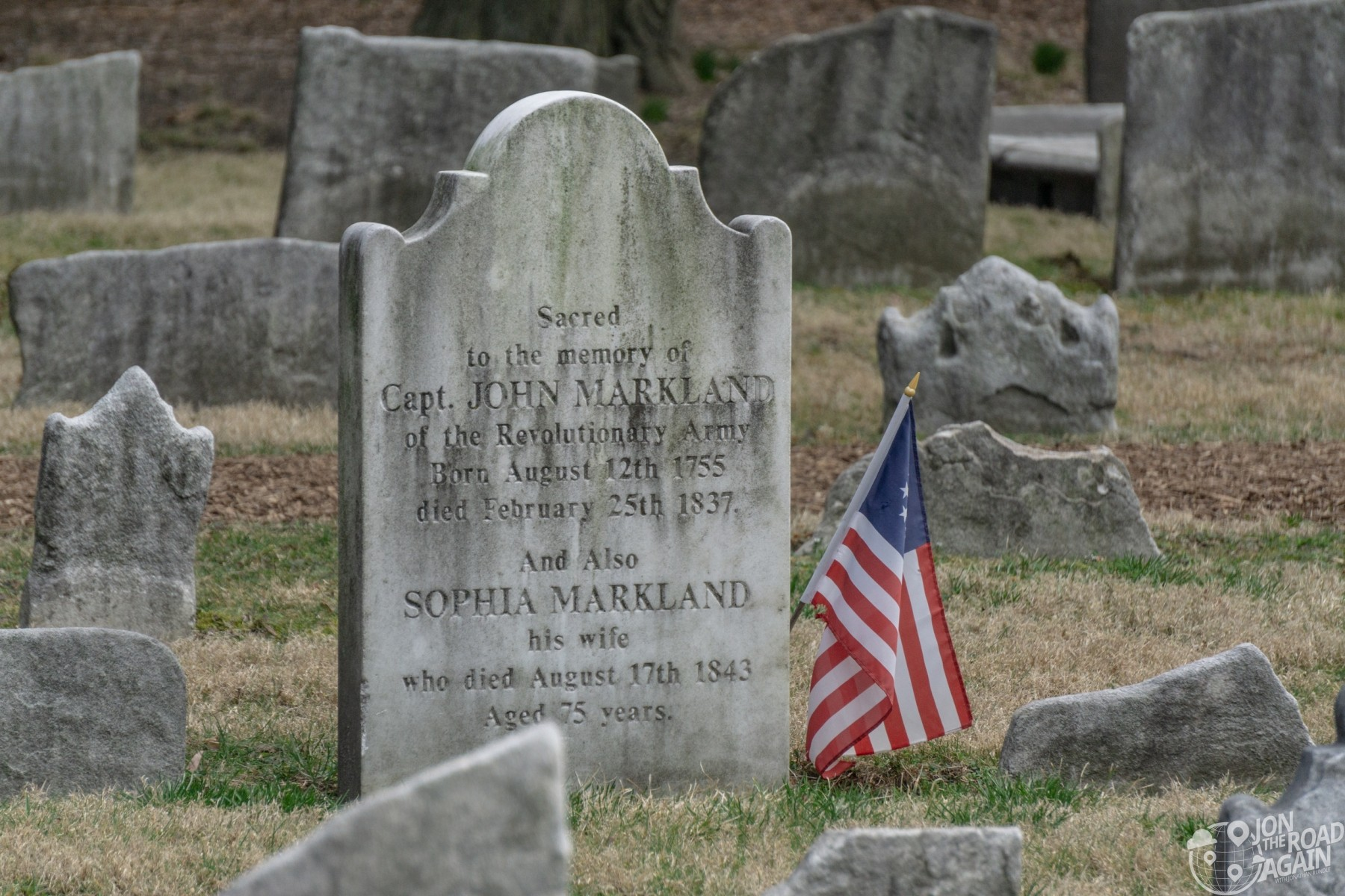 John Markland Grave