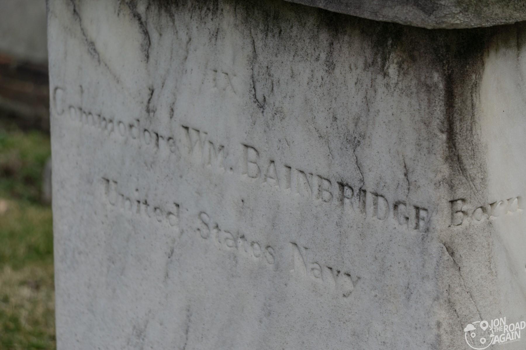 William Bainbridge Grave