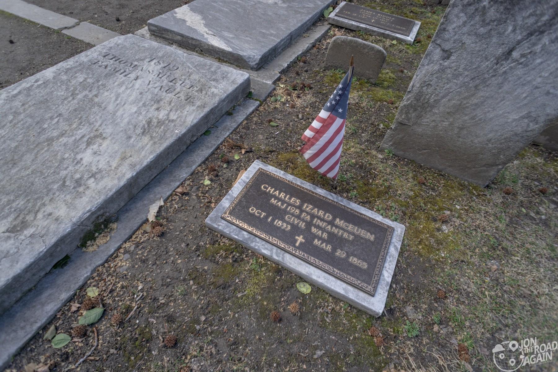 Charles McEuen Grave