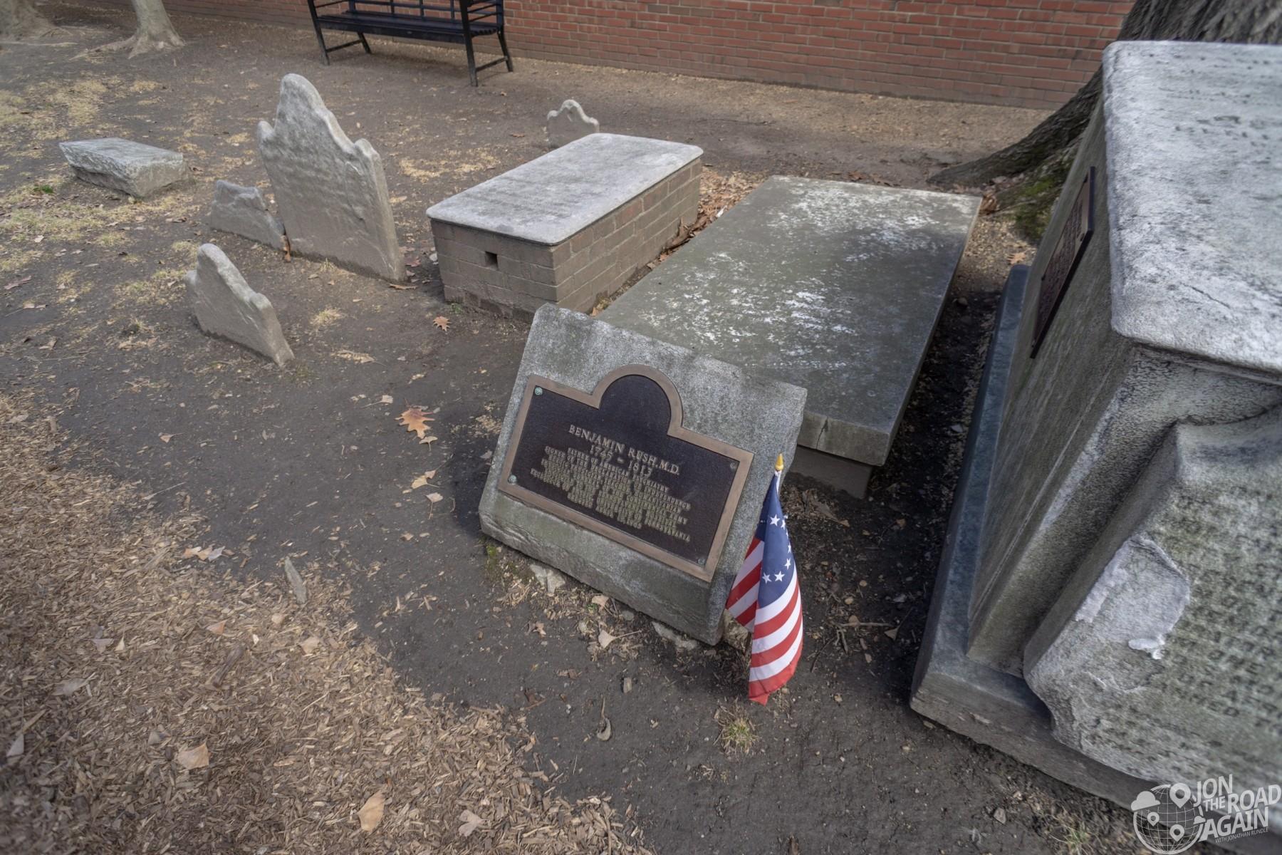 Benjamin Rush MD Grave