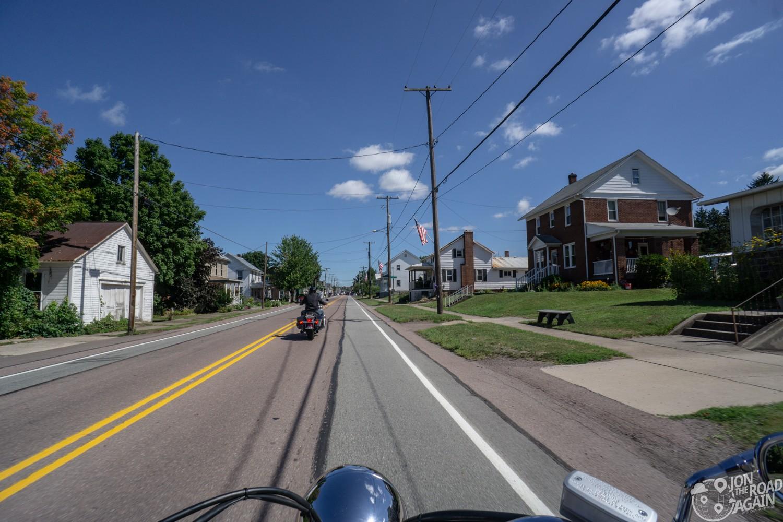 Flight 93 memorial motorcycle ride