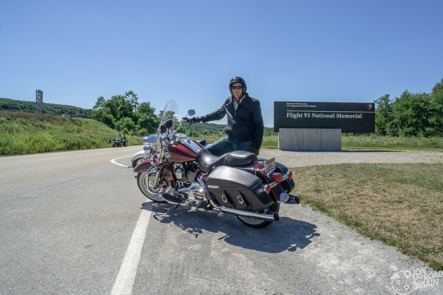 Flight 93 memorial motorcycle ride