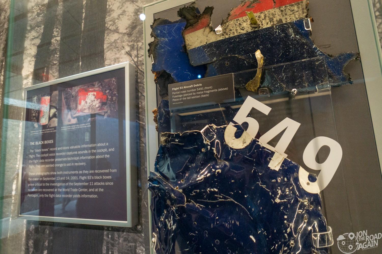 Flight 93 Artifacts